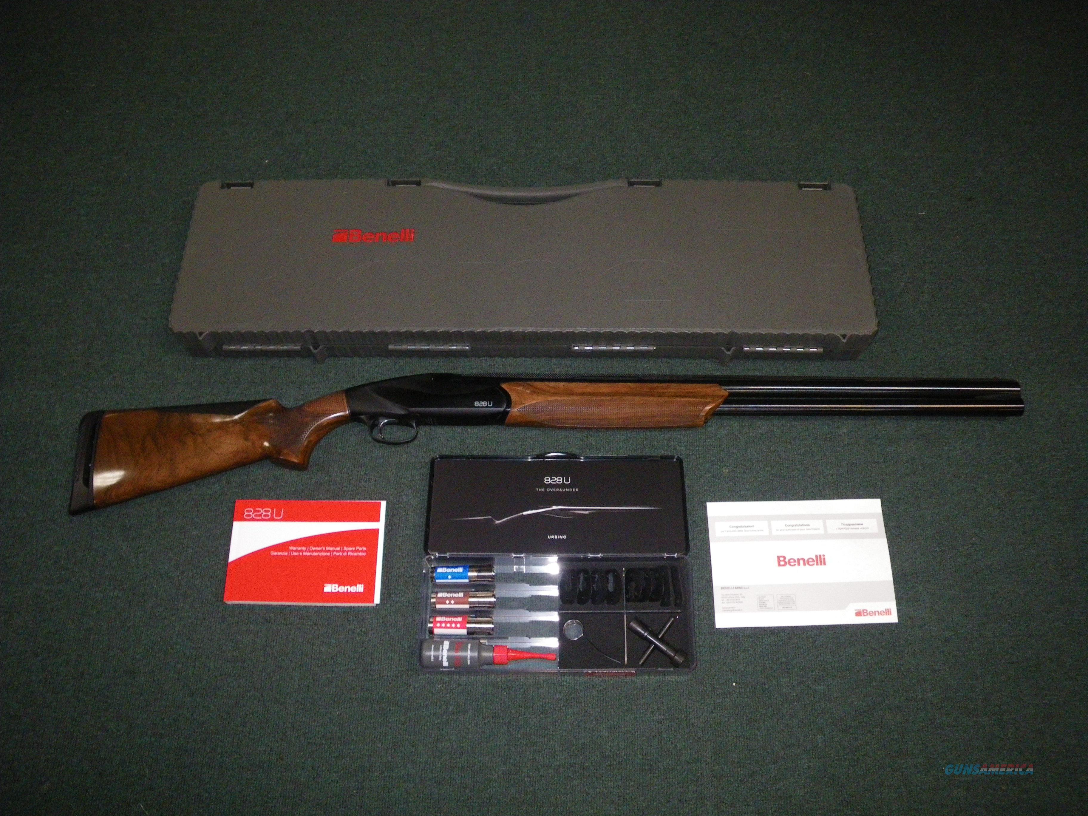 """Benelli 828U Shotgun Anodized/Wood 12ga 26"""" NEW #10701  Guns > Shotguns > Benelli Shotguns > Sporting"""