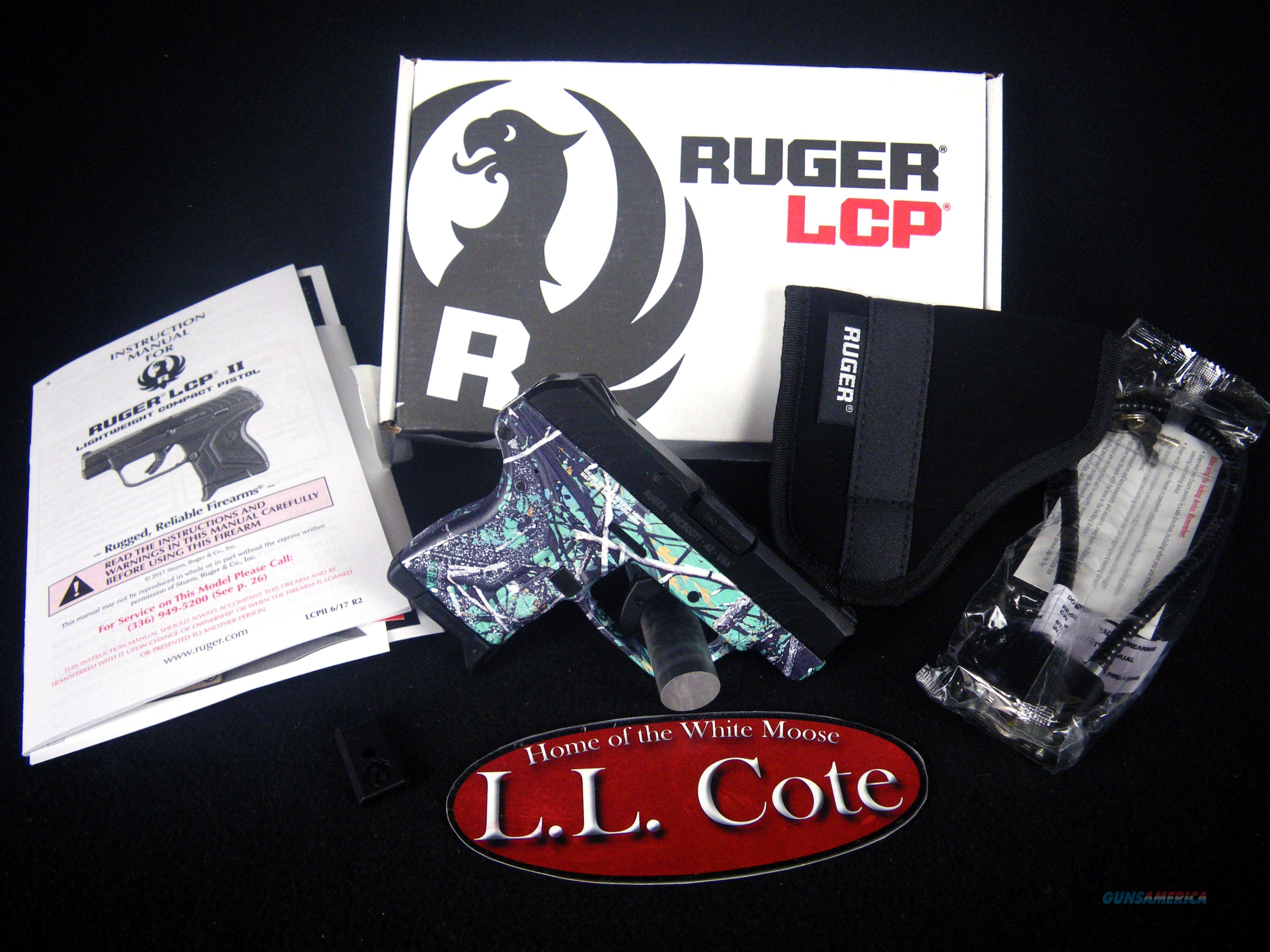 "Ruger LCP II 380acp 2.75"" Serenity Camo NEW 3768  Guns > Pistols > Ruger Semi-Auto Pistols > LCP"