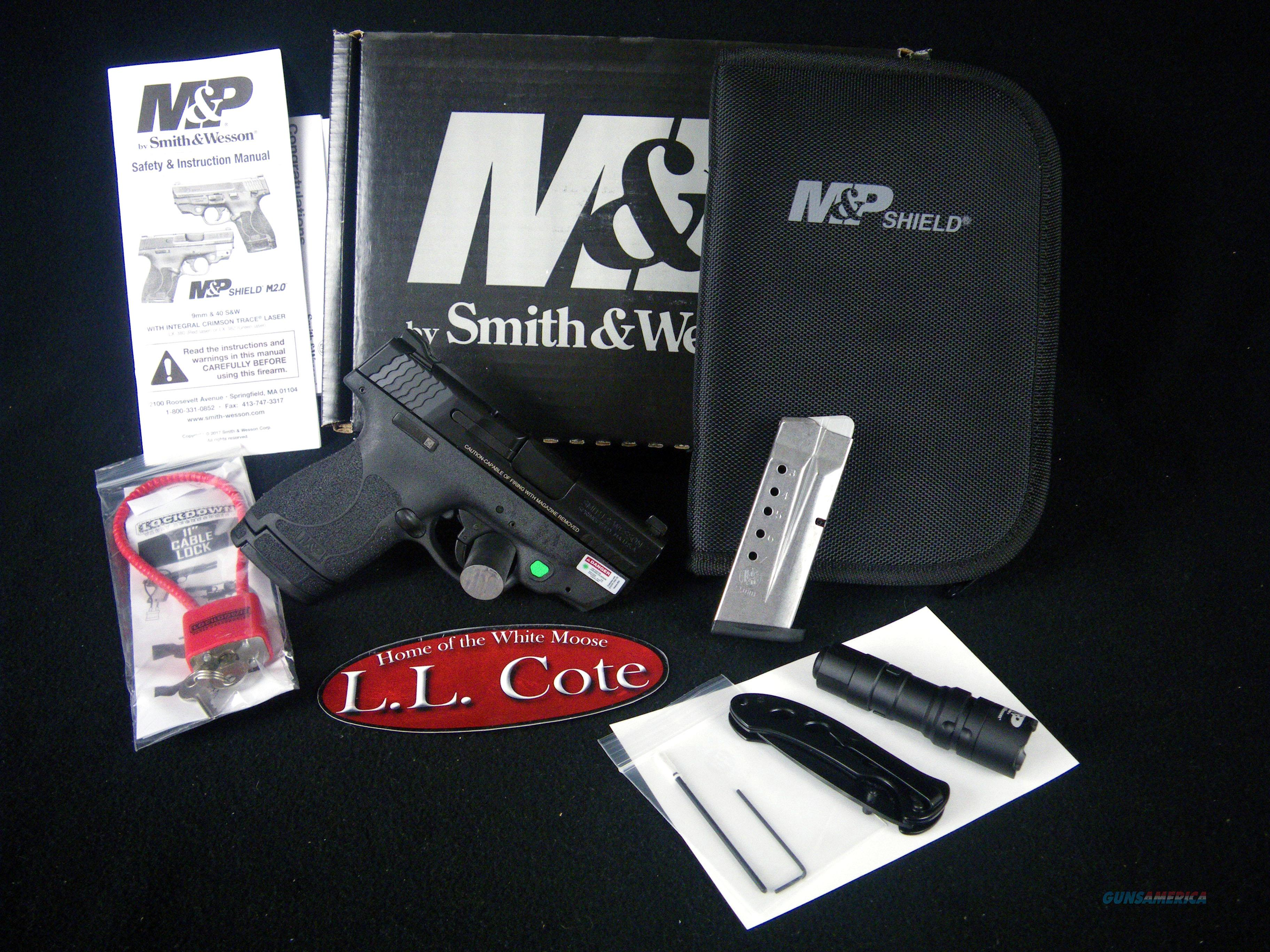 "Smith & Wesson M&P9 Shield M2.0 EDC 9mm 3.1"" NEW 12396  Guns > Pistols > Smith & Wesson Pistols - Autos > Shield"