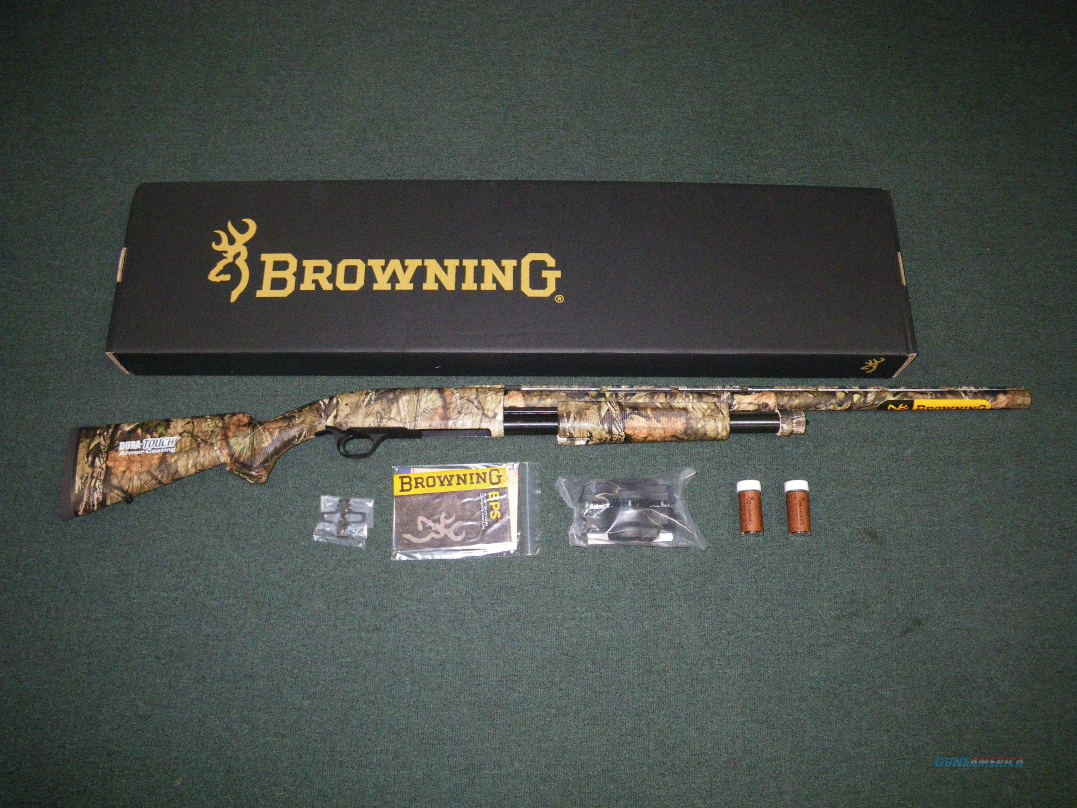 "Browning BPS Mossy Oak Break-Up Cntry 12ga 26"" NEW #012279205  Guns > Shotguns > Browning Shotguns > Pump Action > Hunting"