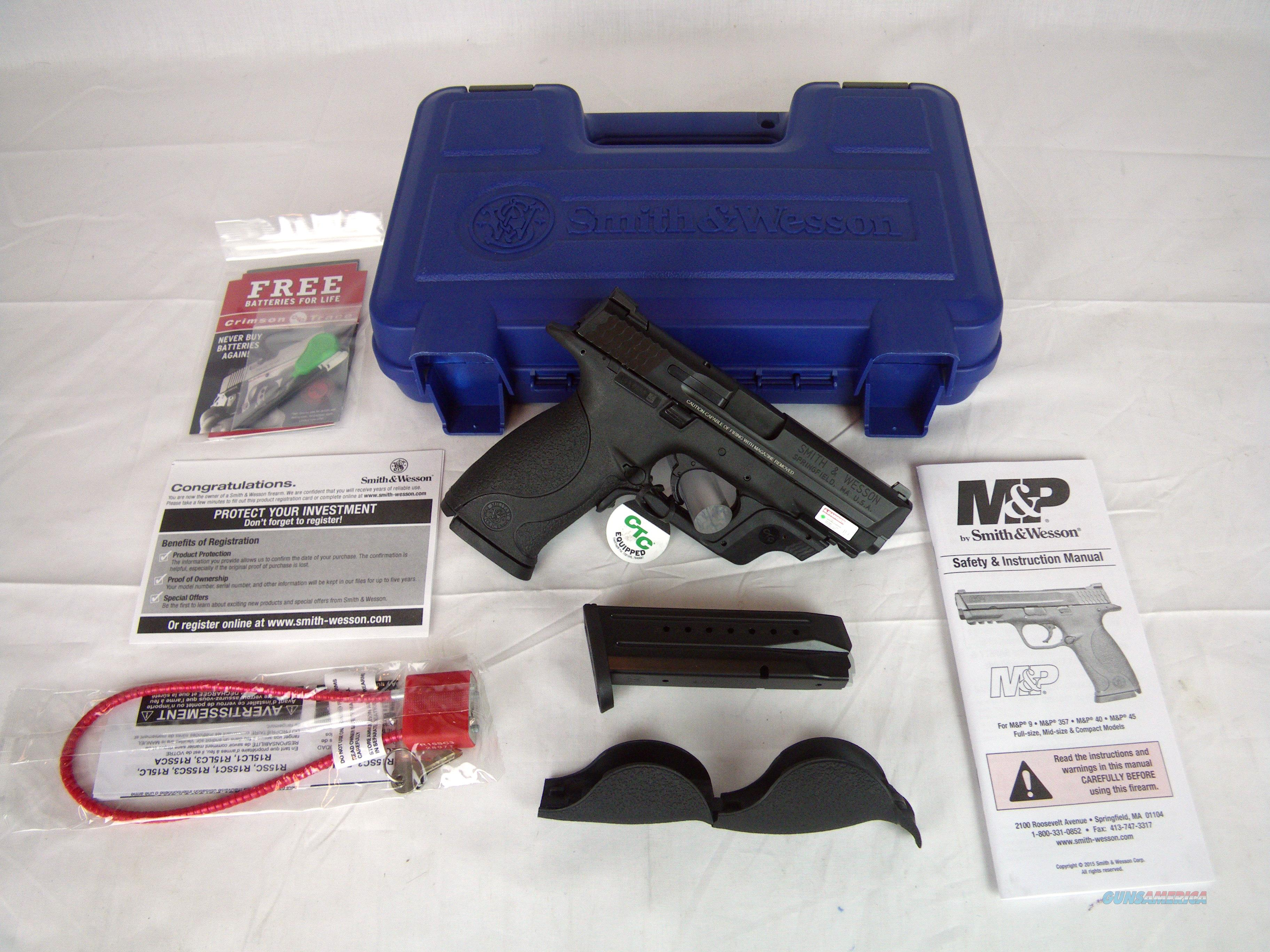 "Smith & Wesson S&W MP9 9mm 4.25"" Green Laser NEW #10174  Guns > Pistols > Smith & Wesson Pistols - Autos > Polymer Frame"
