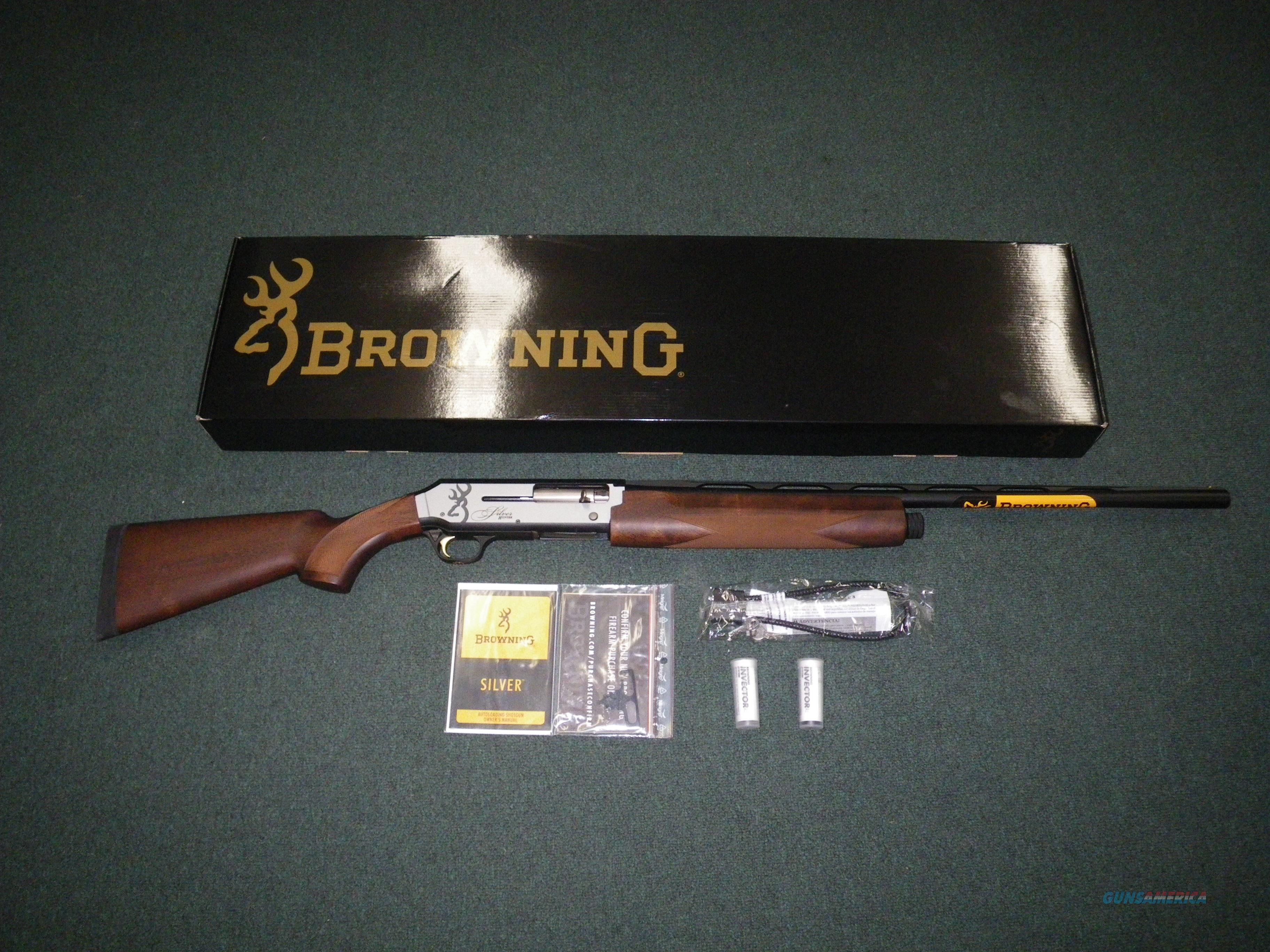 "Browning Silver Hunter Matte 20ga 3"" Chmbr 26"" NEW #011413605  Guns > Shotguns > Browning Shotguns > Autoloaders > Hunting"