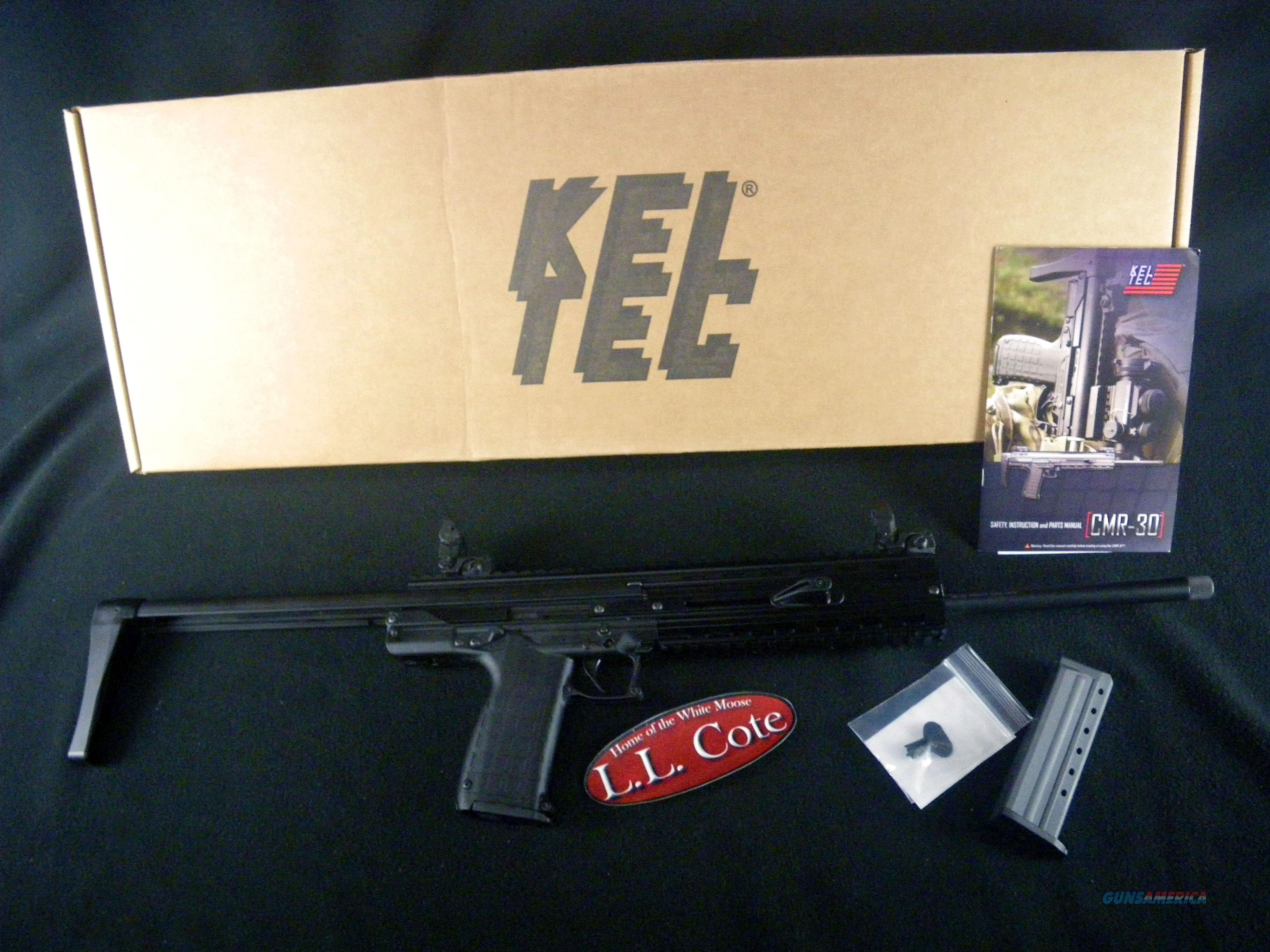 """Kel-Tec CMR-30 22WMR 16"""" NEW 30 Round CMR30BLK  Guns > Rifles > Kel-Tec Rifles"""