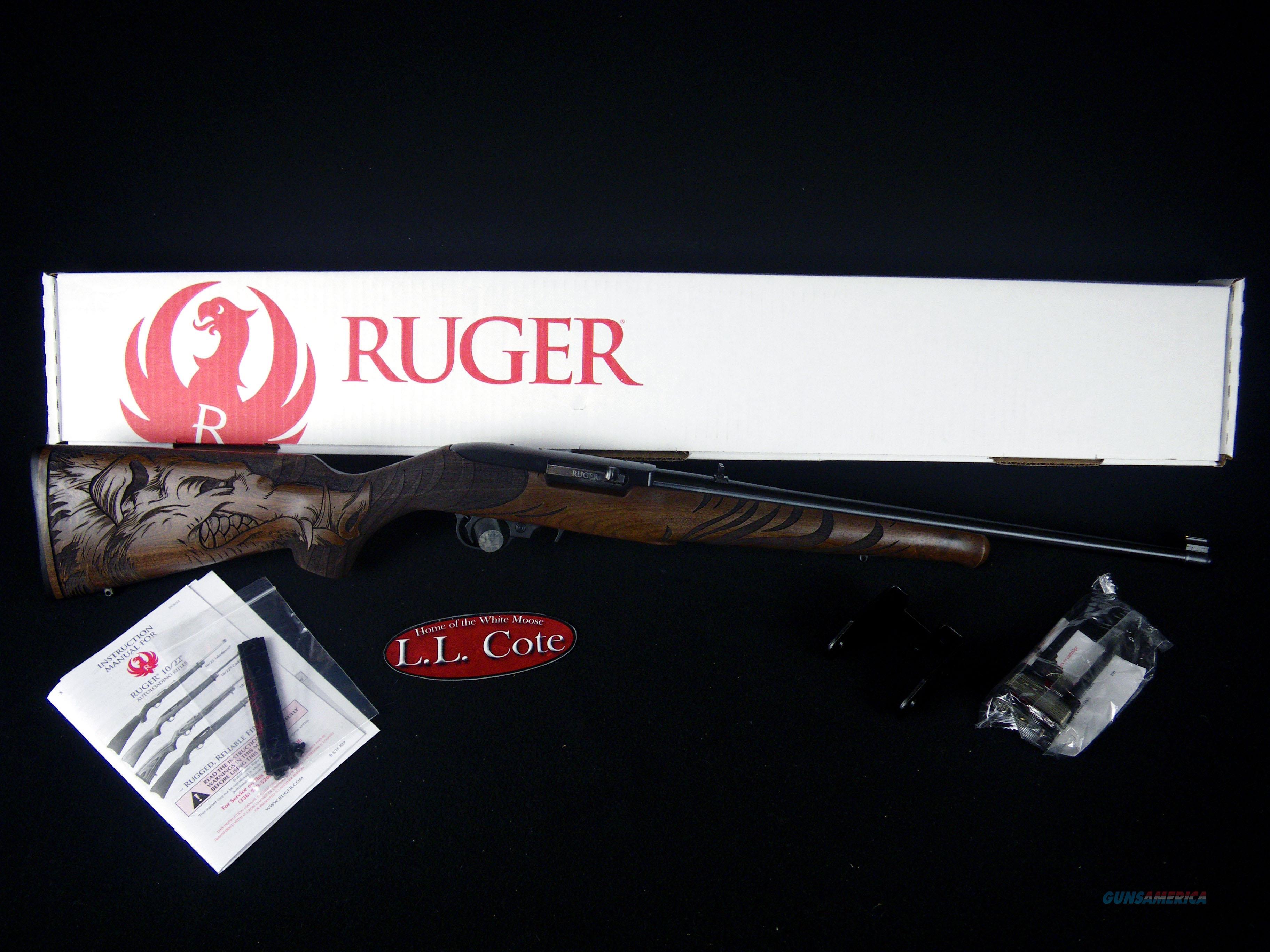 "Ruger 10/22 Sporter Wild Hog 22lr 18.5"" NEW 21168  Guns > Rifles > Ruger Rifles > 10-22"