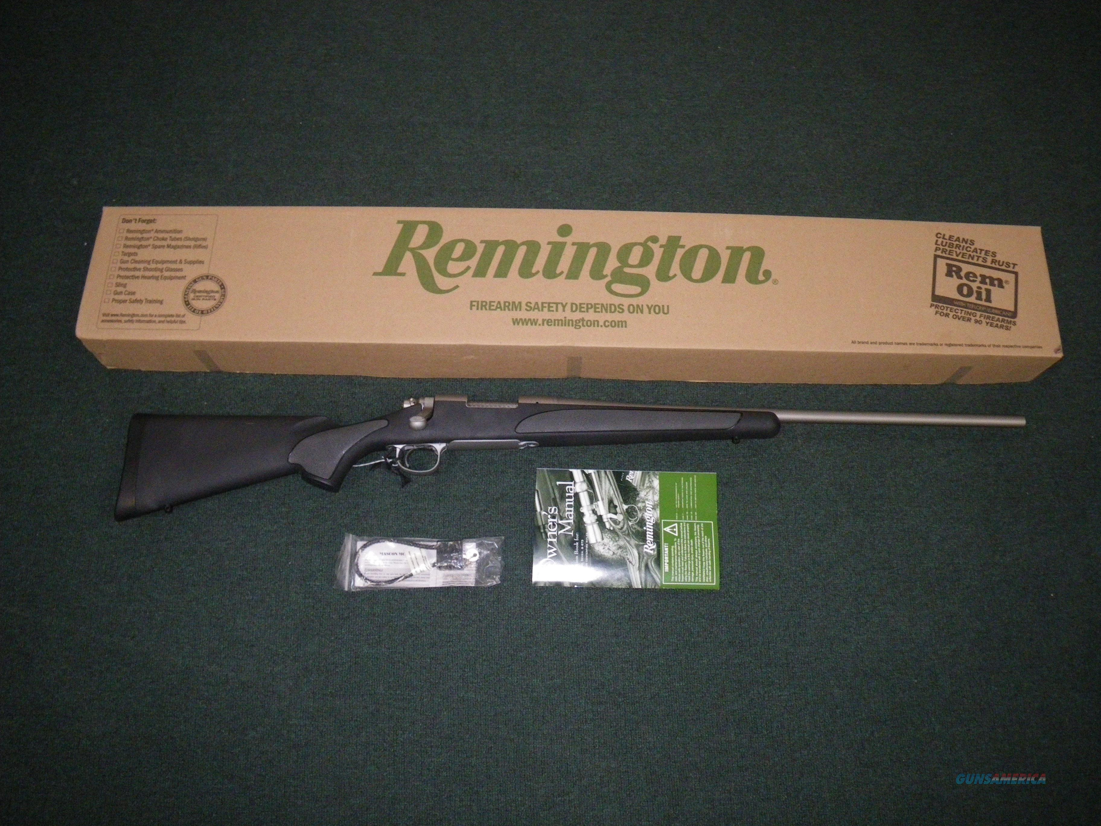 "Remington Model 700 SPS Stainless 30-06 Spfld 24"" NEW #27269  Guns > Rifles > Remington Rifles - Modern > Model 700 > Sporting"