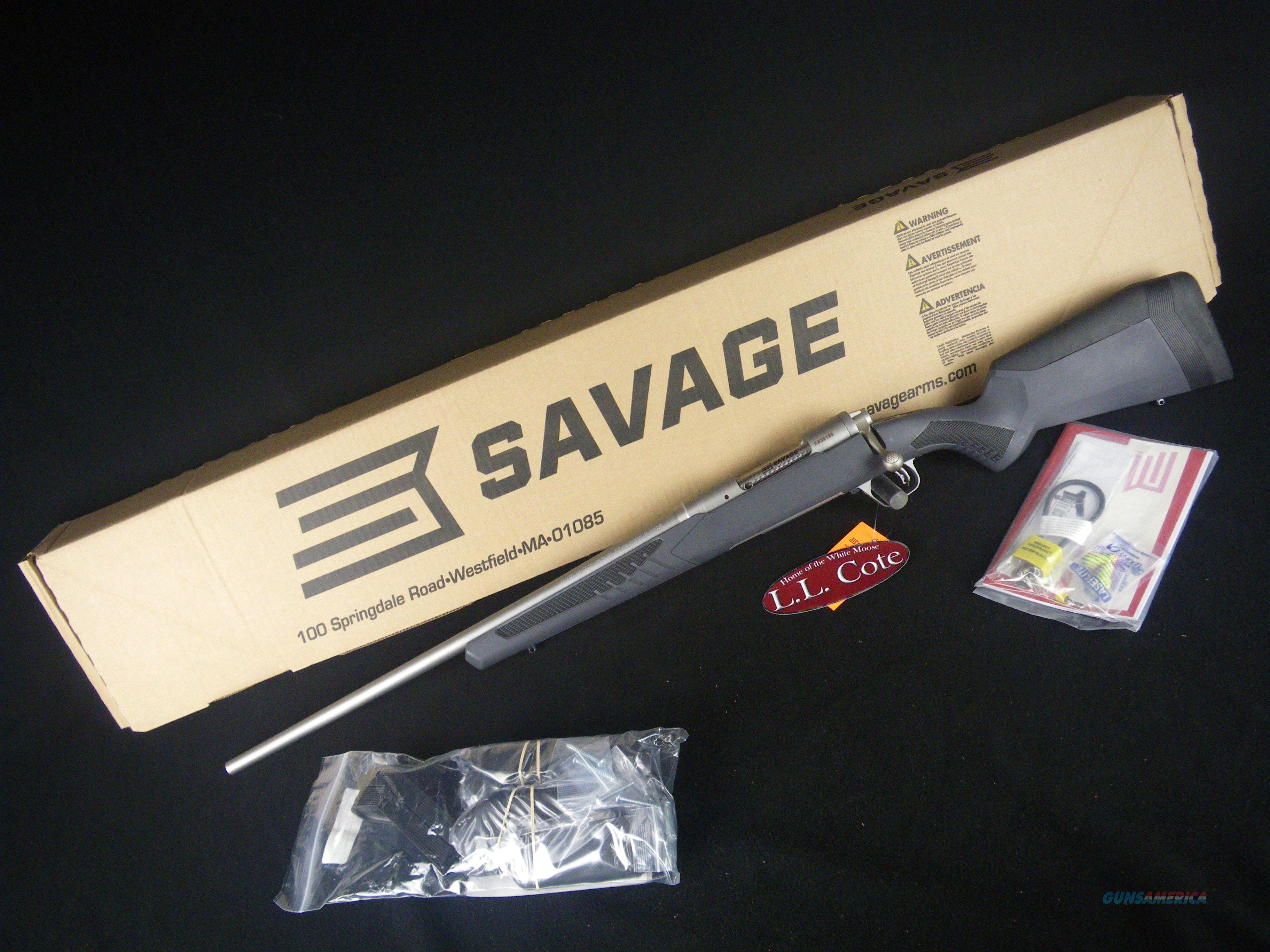 "Savage 110 Storm LH 30-06 Spfld 22"" SS NEW 57057  Guns > Rifles > Savage Rifles > 10/110"