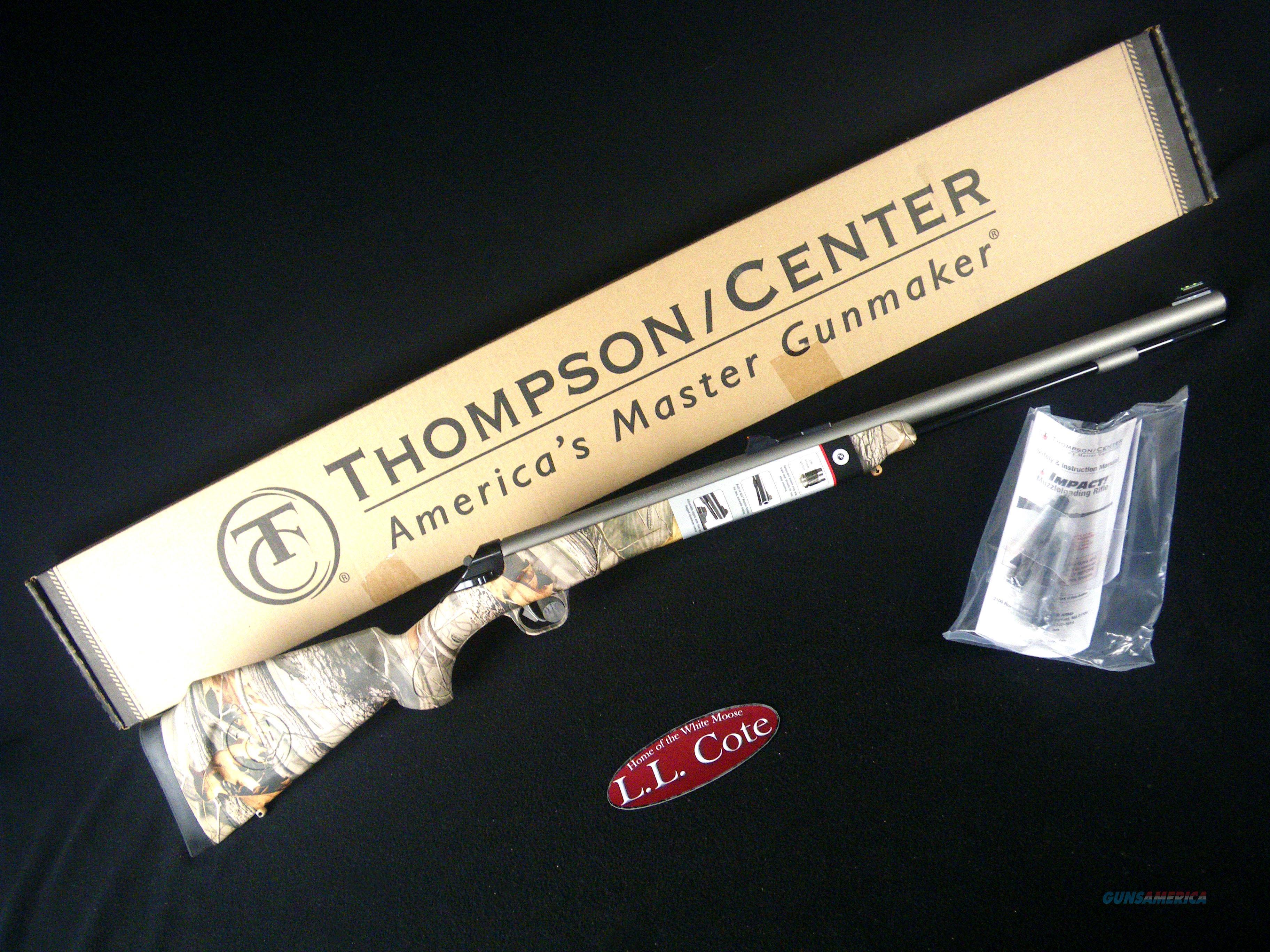 "Thompson Center Impact 50cal 26"" Camo NEW 10186689  Guns > Rifles > Thompson Center Muzzleloaders > Inline Style"