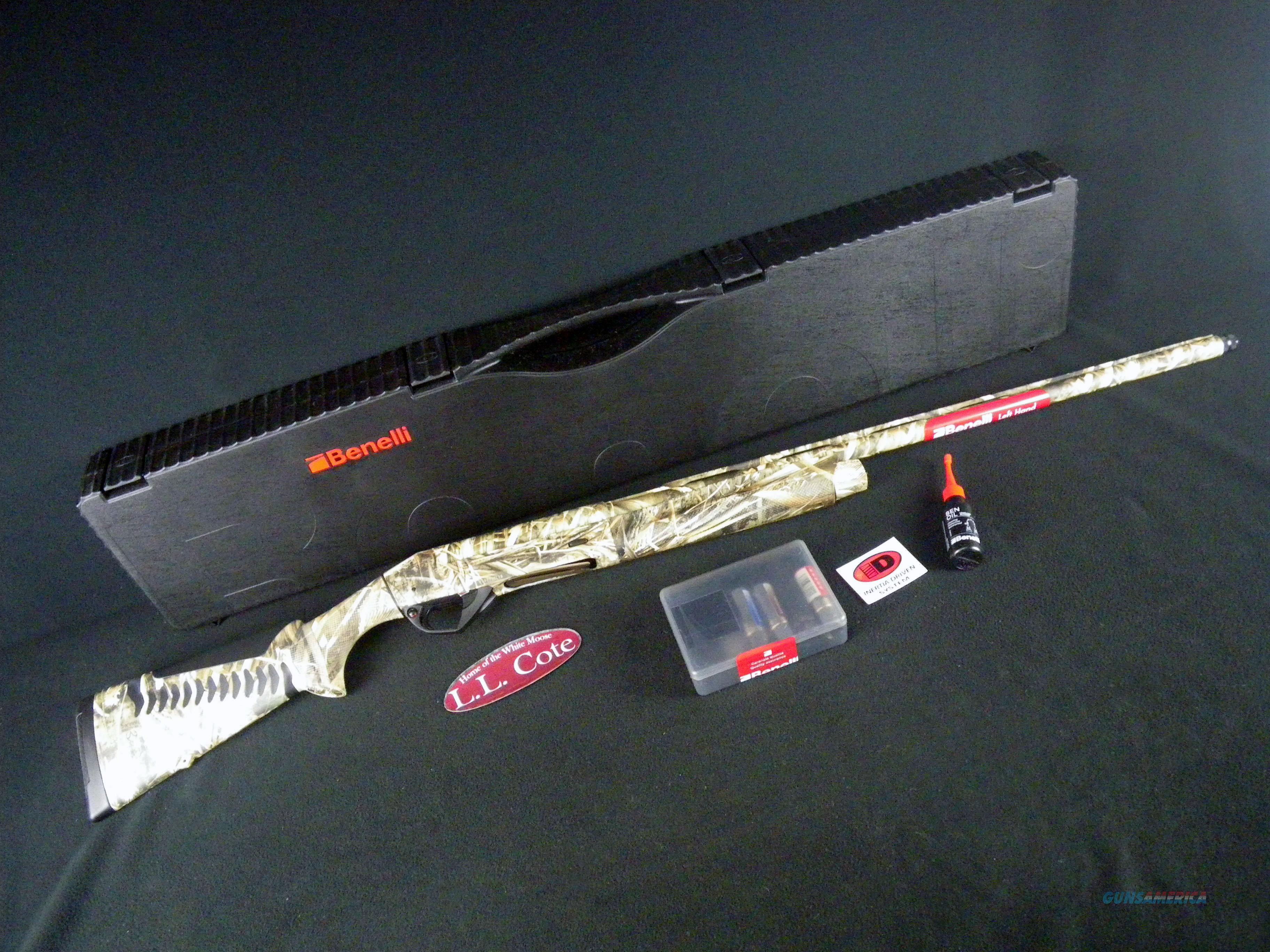 """Benelli Super Black Eagle 3 Max-5 LH 12ga 28"""" NEW 3.5"""" 10375  Guns > Shotguns > Benelli Shotguns > Sporting"""