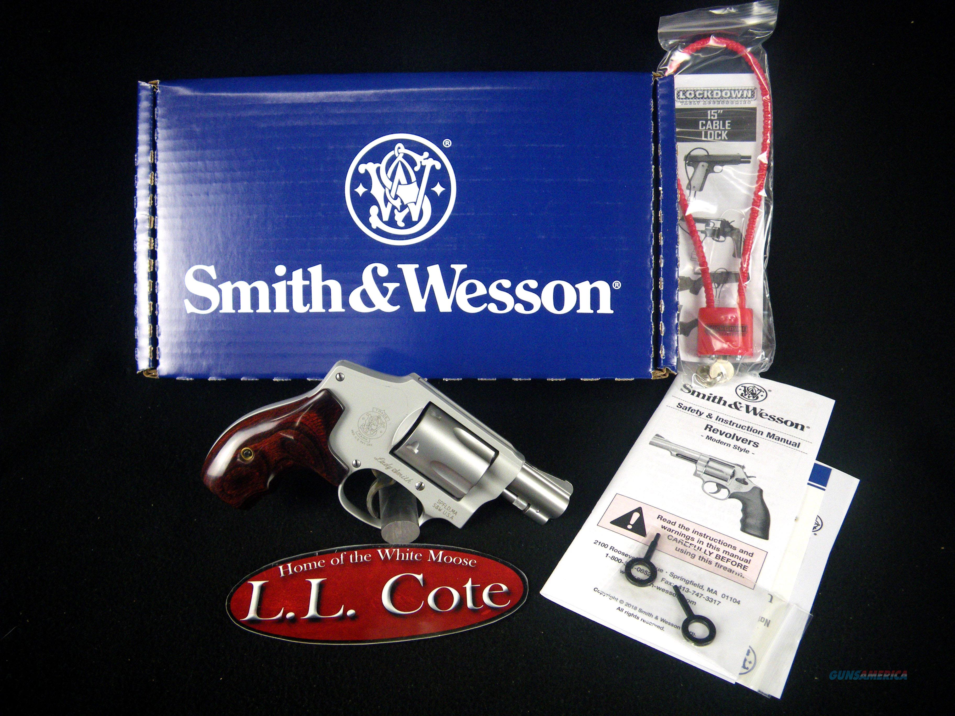 "Smith & Wesson Model 642 LadySmith 38 Spl+P 1.875"" 163808  Guns > Pistols > Smith & Wesson Revolvers > Small Frame ( J )"