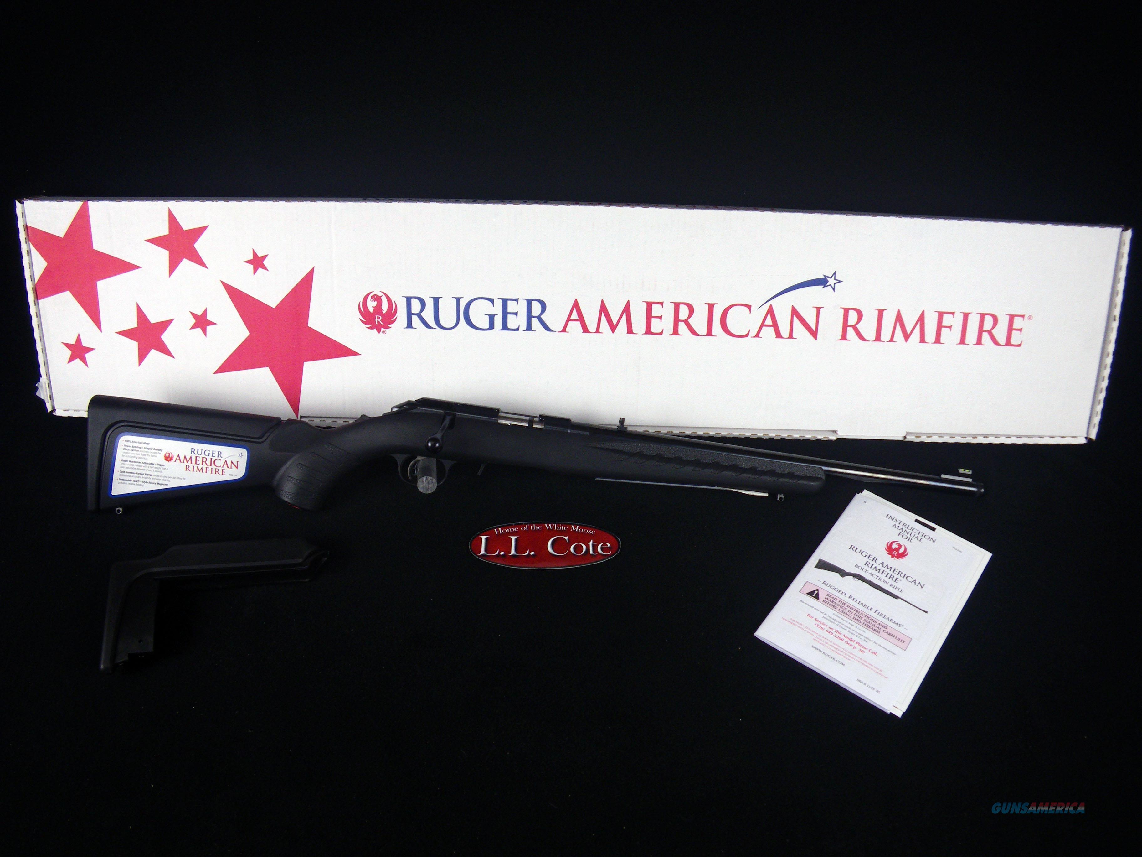 "Ruger American Rimfire Compact 22wmr 18"" NEW 8324  Guns > Rifles > Ruger Rifles > American Rifle"
