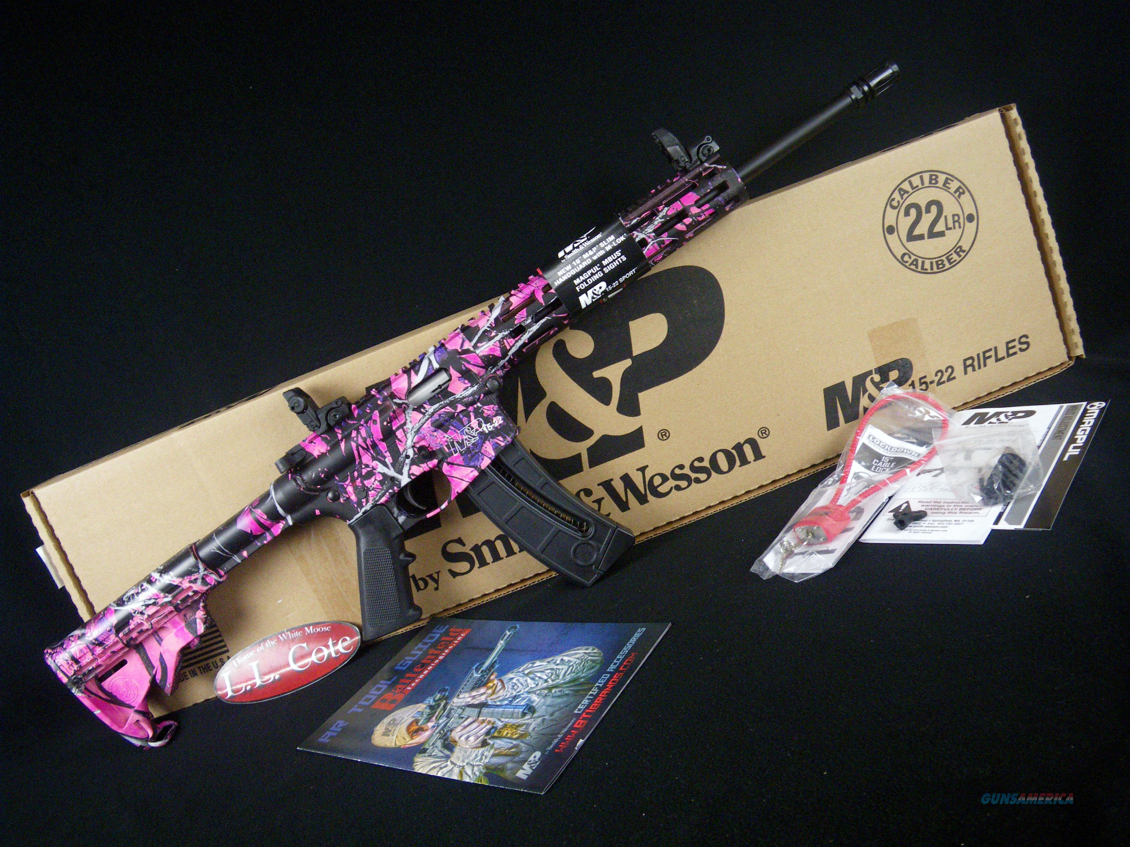 "Smith & Wesson M&P 15-22 Sport M-LOK 22lr 16.5"" NEW 10212  Guns > Rifles > Smith & Wesson Rifles > M&P"