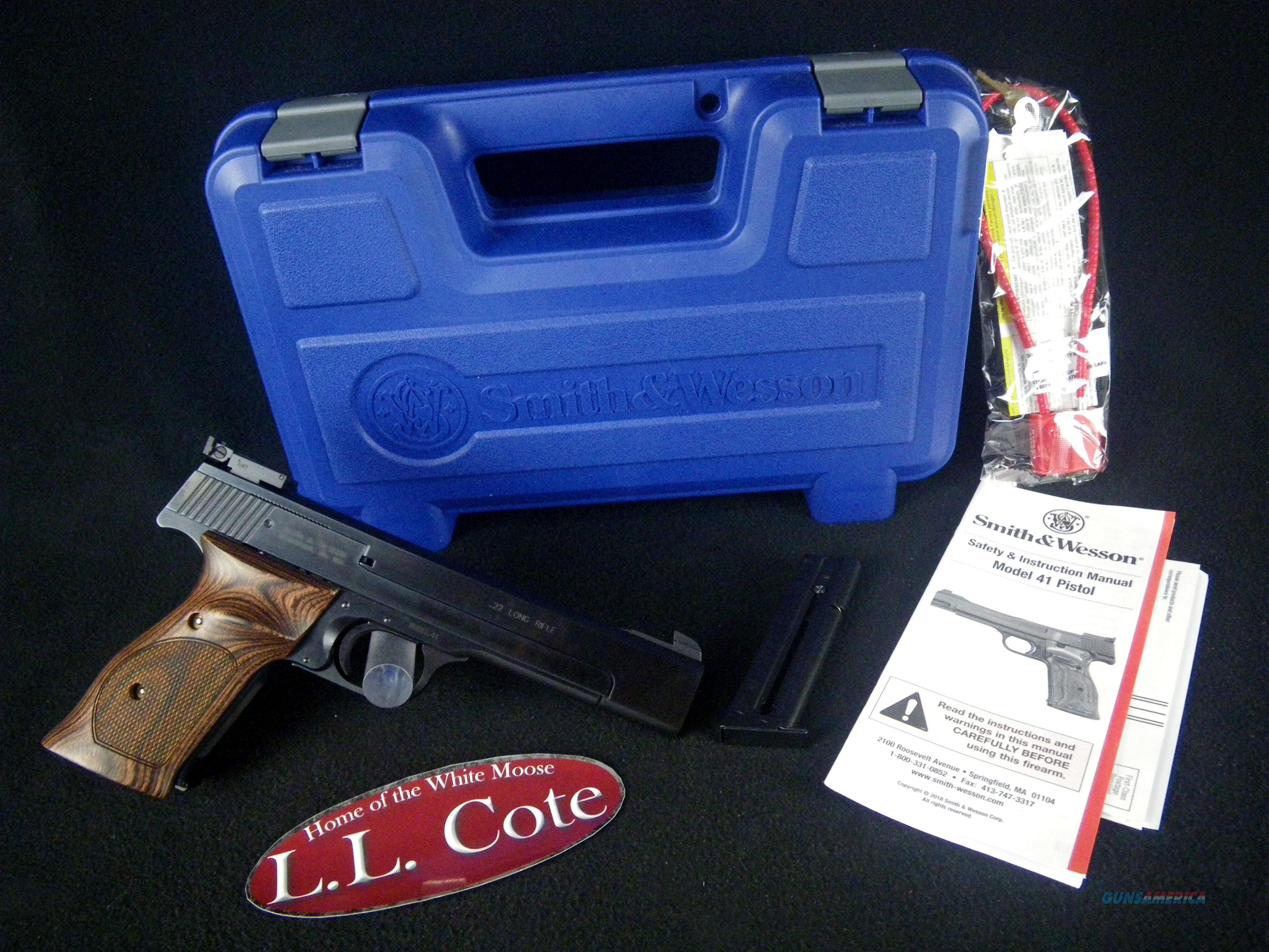 "Smith & Wesson Model 41 22lr 5.5"" NEW 130511  Guns > Pistols > Smith & Wesson Pistols - Autos > .22 Autos"
