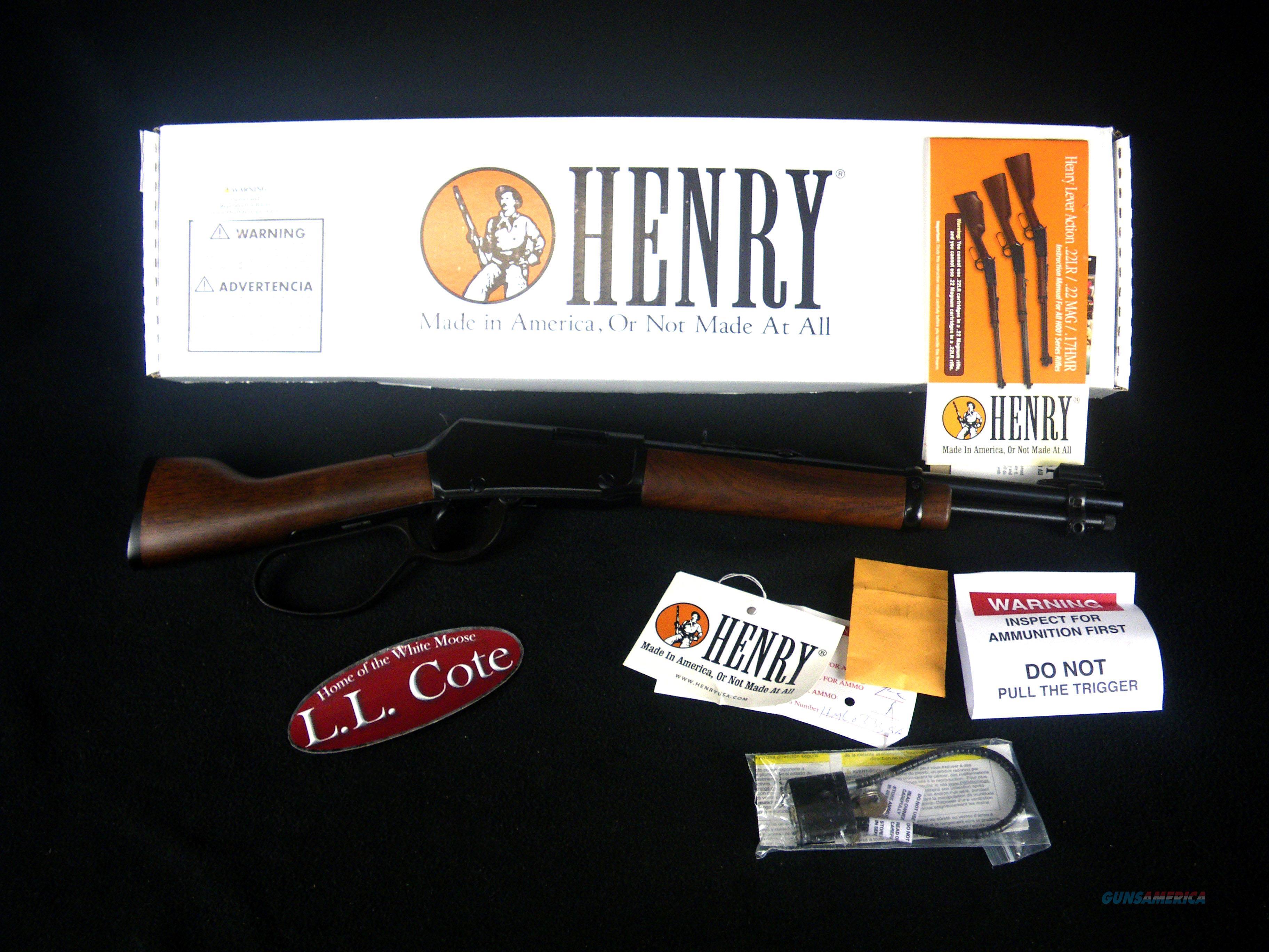 "Henry Mare's Leg Lever Pistol 22s/l/lr 12.875"" NEW H001ML  Guns > Rifles > Henry Rifle Company"