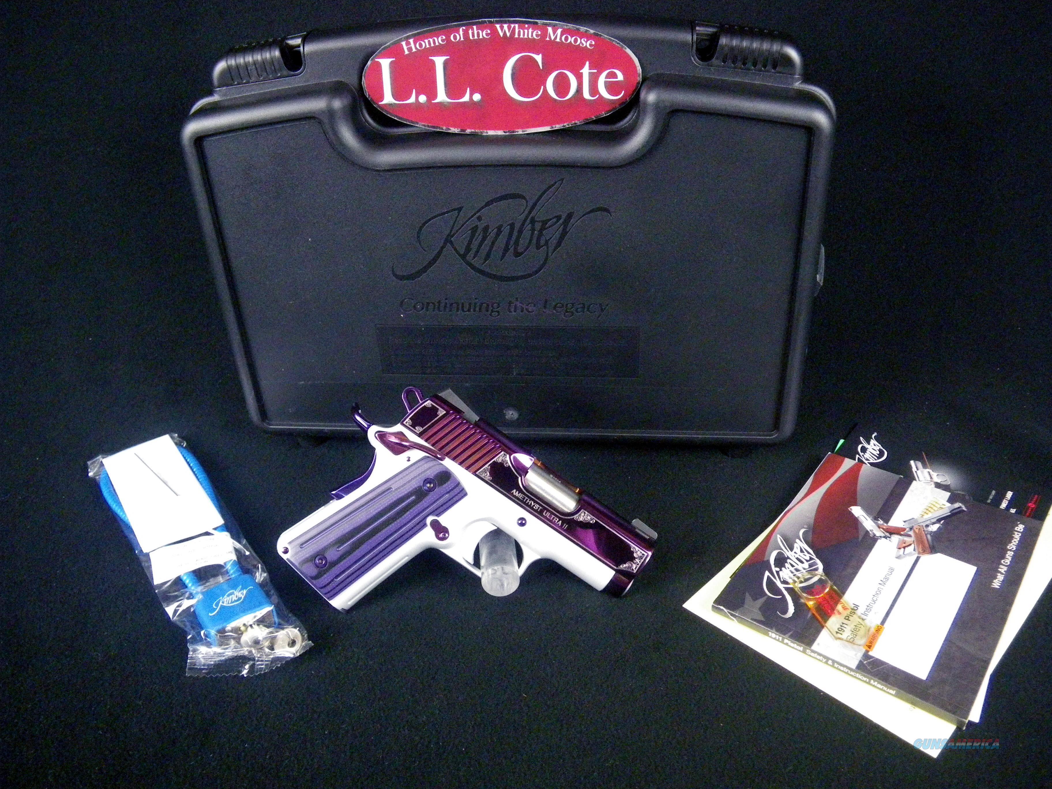 "Kimber Amethyst Ultra II 9mm 3"" NEW #3200319  Guns > Pistols > Kimber of America Pistols > 1911"