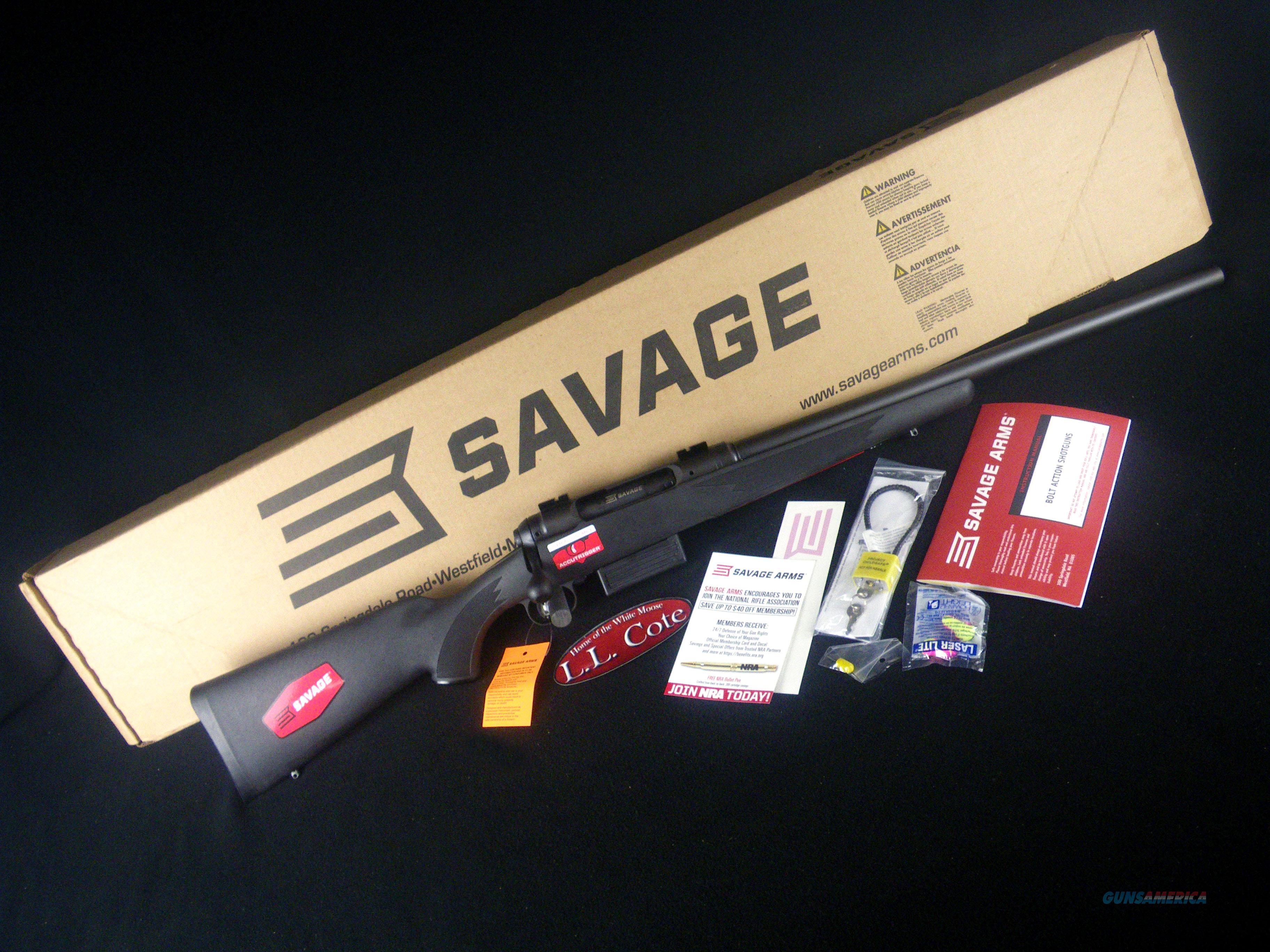 """Savage 212 Slug Gun 12ga Bolt 22"""" NEW 19042  Guns > Shotguns > Savage Shotguns"""
