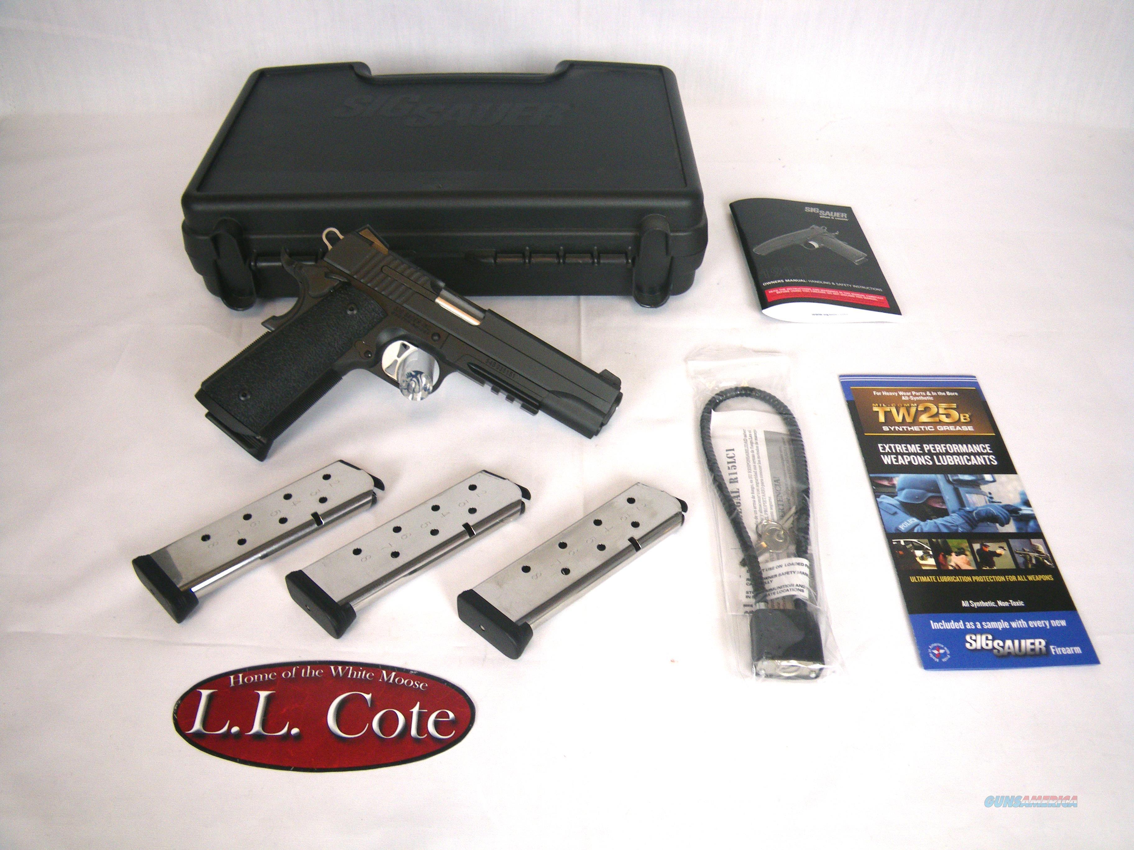 """Sig Sauer 1911R Tactical Operations 45ACP 5"""" NIB #1911R-45-TACOPS  Guns > Pistols > Sig - Sauer/Sigarms Pistols > 1911"""