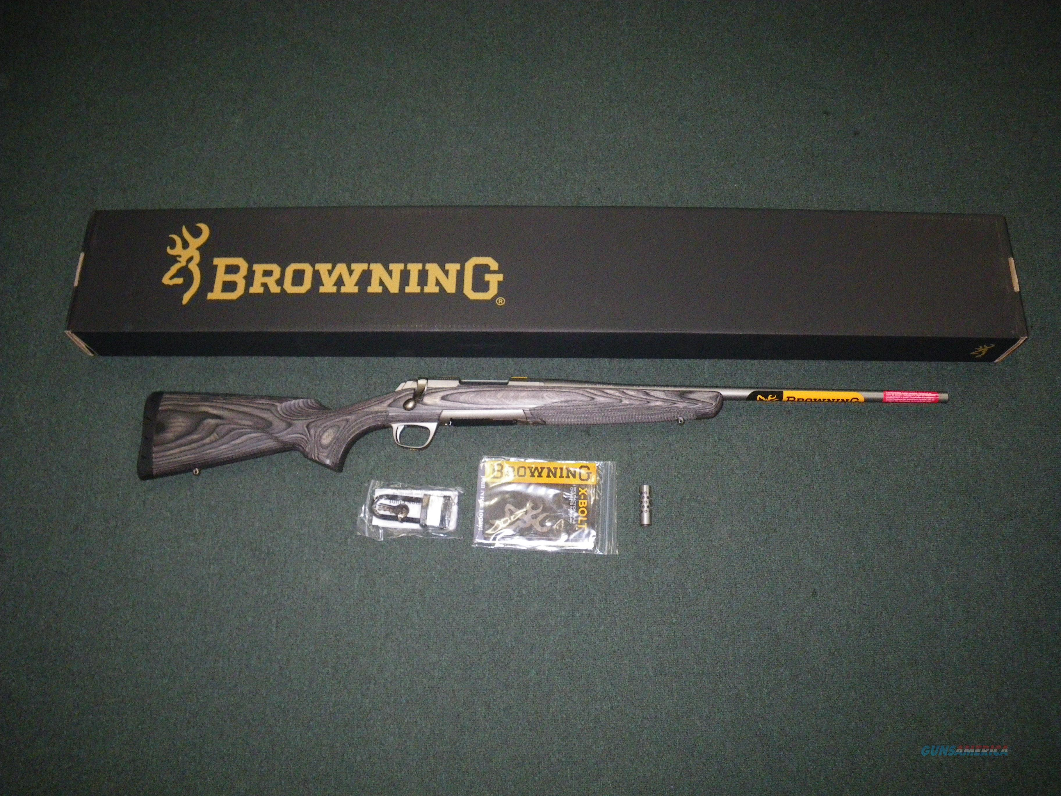 "Browning X-Bolt All Weather SS/Lam 270 Win 22"" NEW 035420224  Guns > Rifles > Browning Rifles > Bolt Action > Hunting > Stainless"
