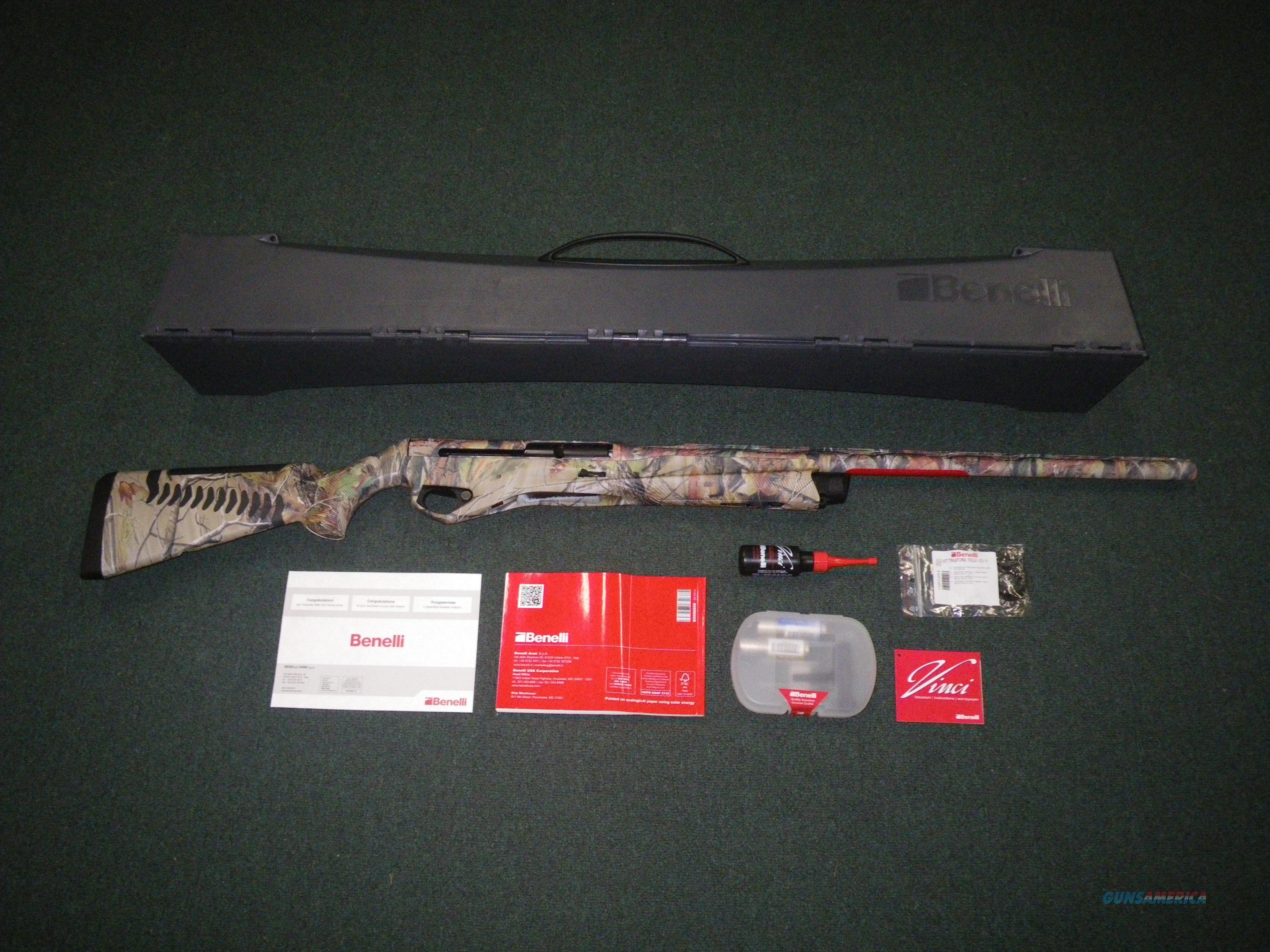 """Benelli Super Vinci Realtree APG 12ga 26"""" NEW 3.5"""" 10558  Guns > Shotguns > Benelli Shotguns > Sporting"""