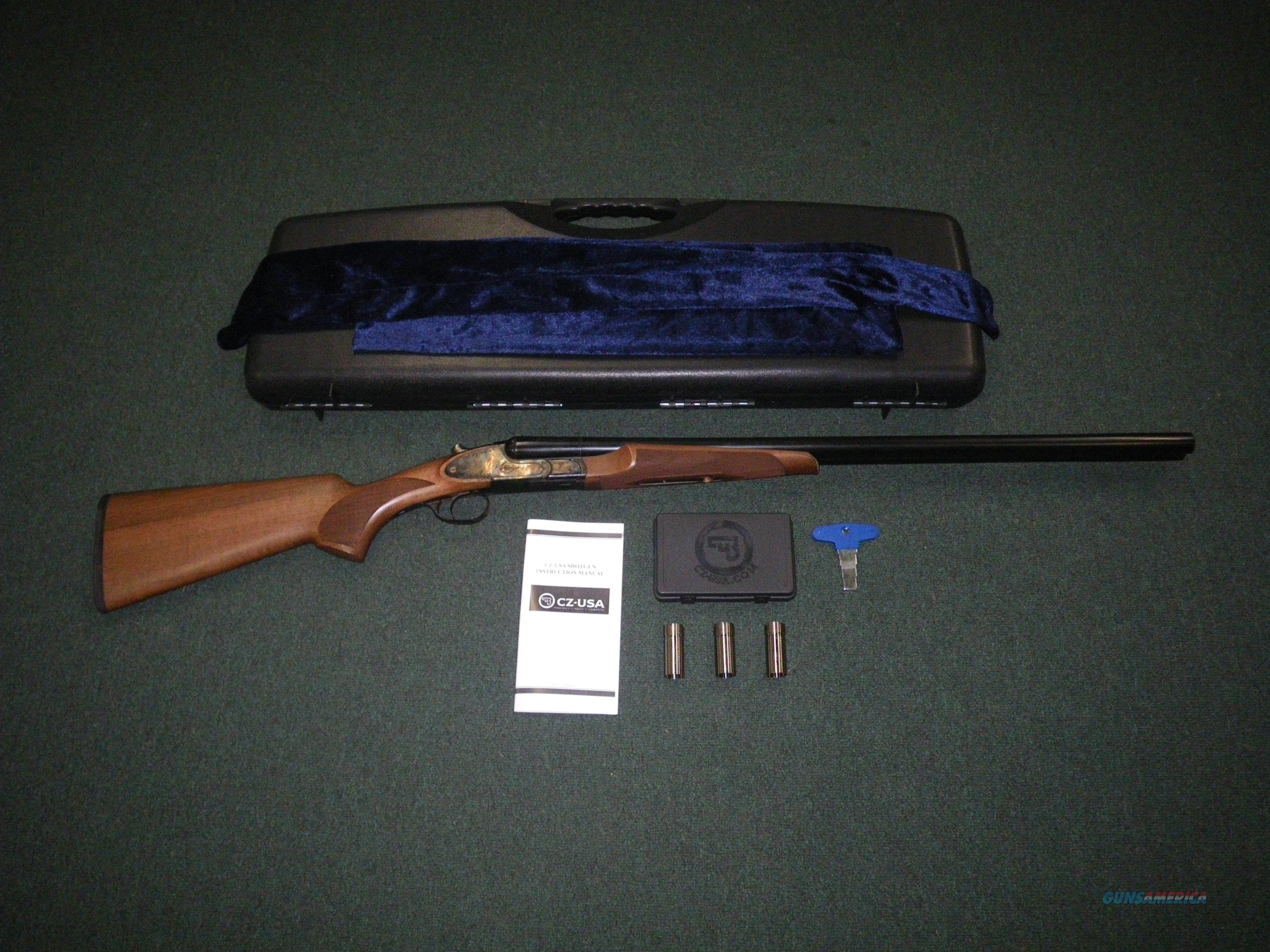 """CZ Sharp Tail 16ga 2-3/4"""" Wood/Blued 28"""" NEW 06402  Guns > Shotguns > CZ Shotguns"""