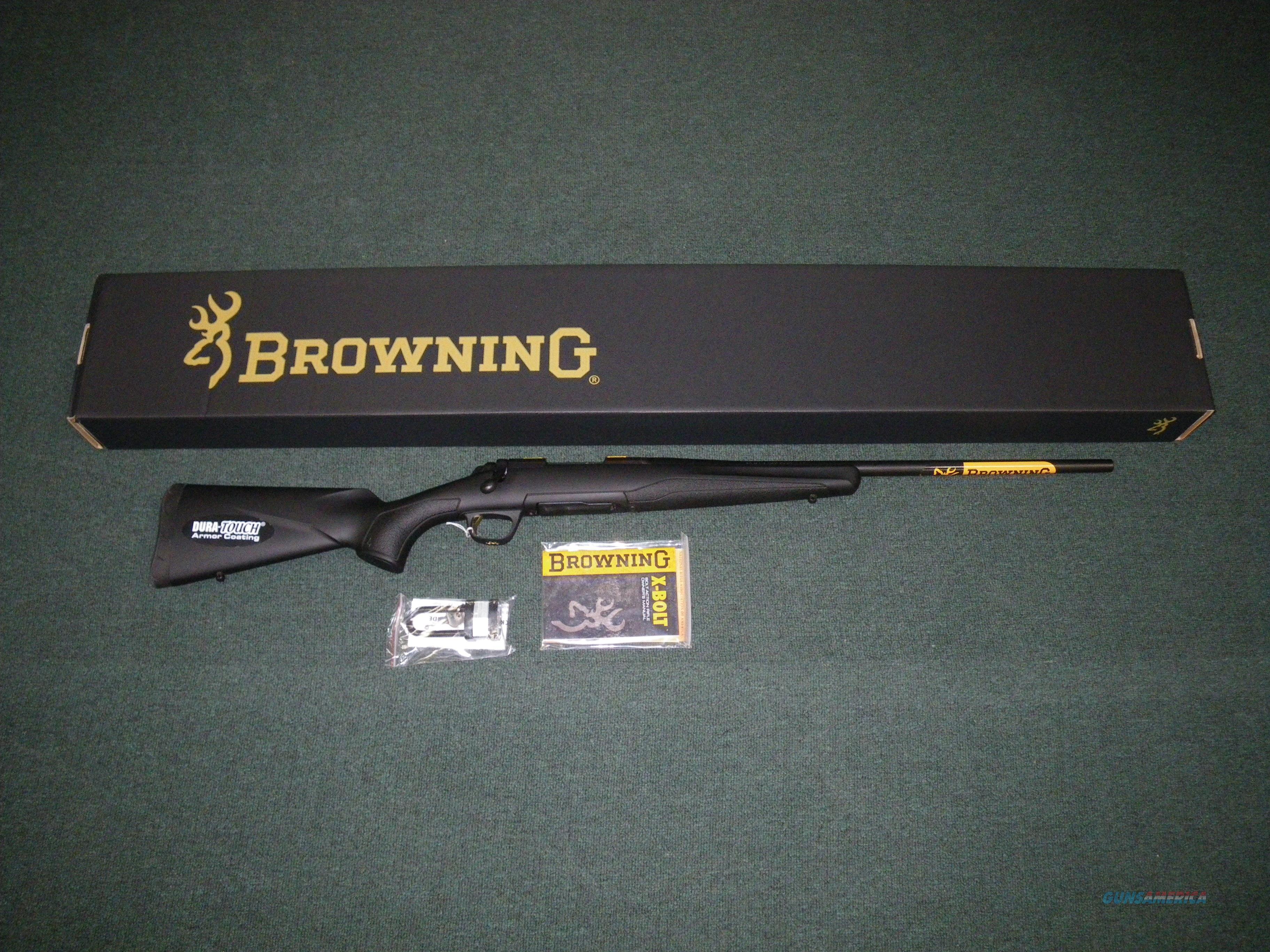 Browning X-Bolt Composite Stalker 223 Rem 22in NIB #035205208  Guns > Rifles > Browning Rifles > Bolt Action > Hunting > Blue