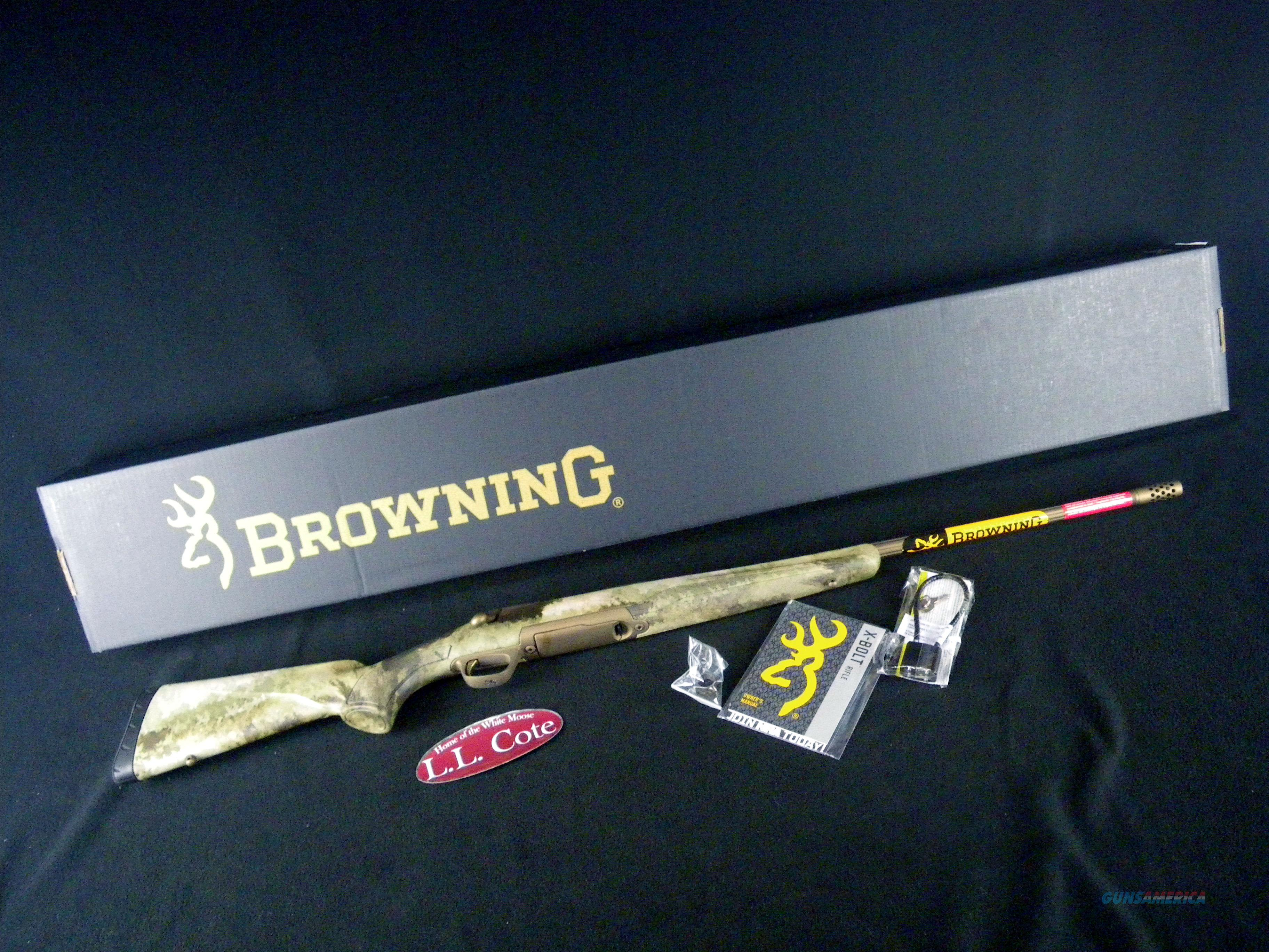 """Browning X-Bolt Hell's Canyon Speed SR 308 Win 22"""" 035475218  Guns > Rifles > Browning Rifles > Bolt Action > Hunting > Blue"""