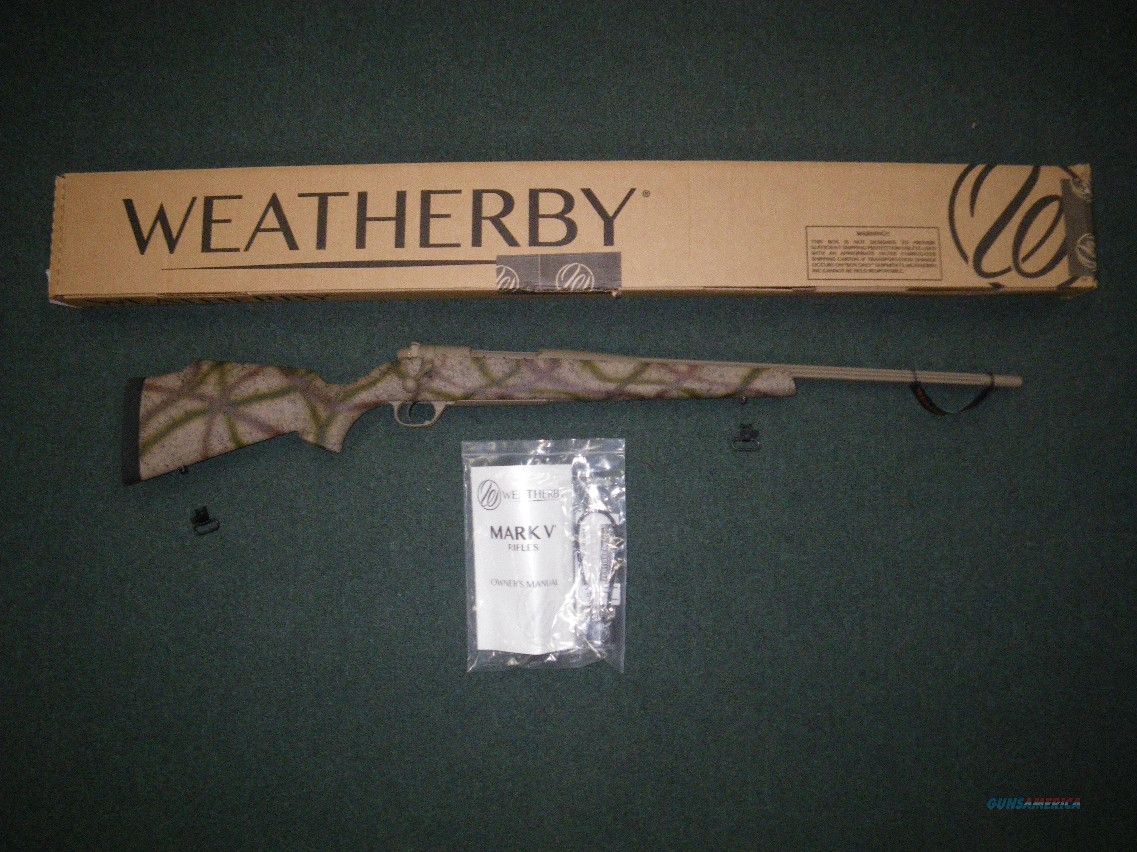 "Weatherby Mark V Outfitter FDE 6.5 Creed 22"" NEW MODS65CMR2O  Guns > Rifles > Weatherby Rifles > Sporting"