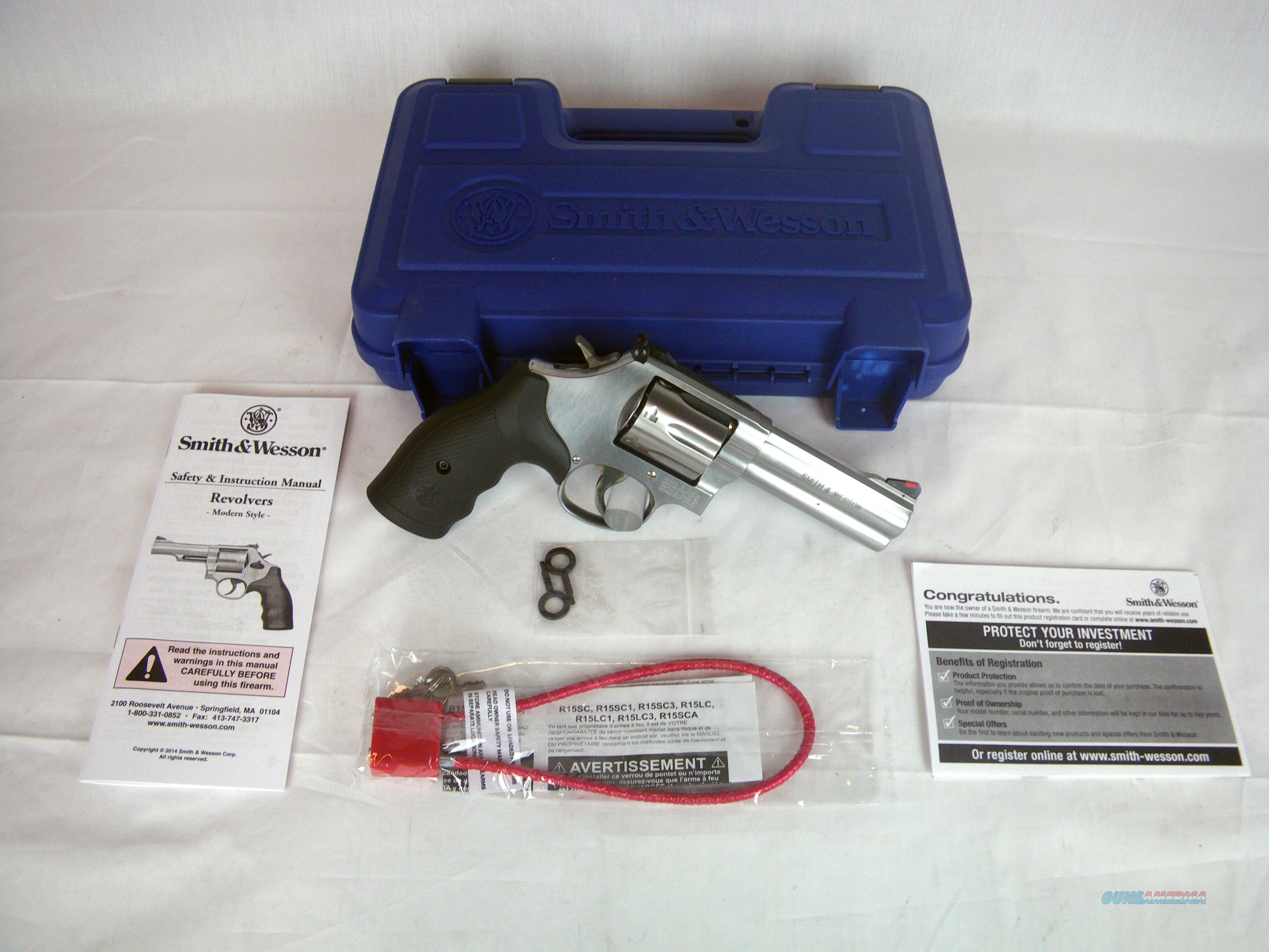 """Smith & Wesson Model 686 Plus SS 357 Mag 4"""" NEW #164194  Guns > Pistols > Smith & Wesson Revolvers > Med. Frame ( K/L )"""