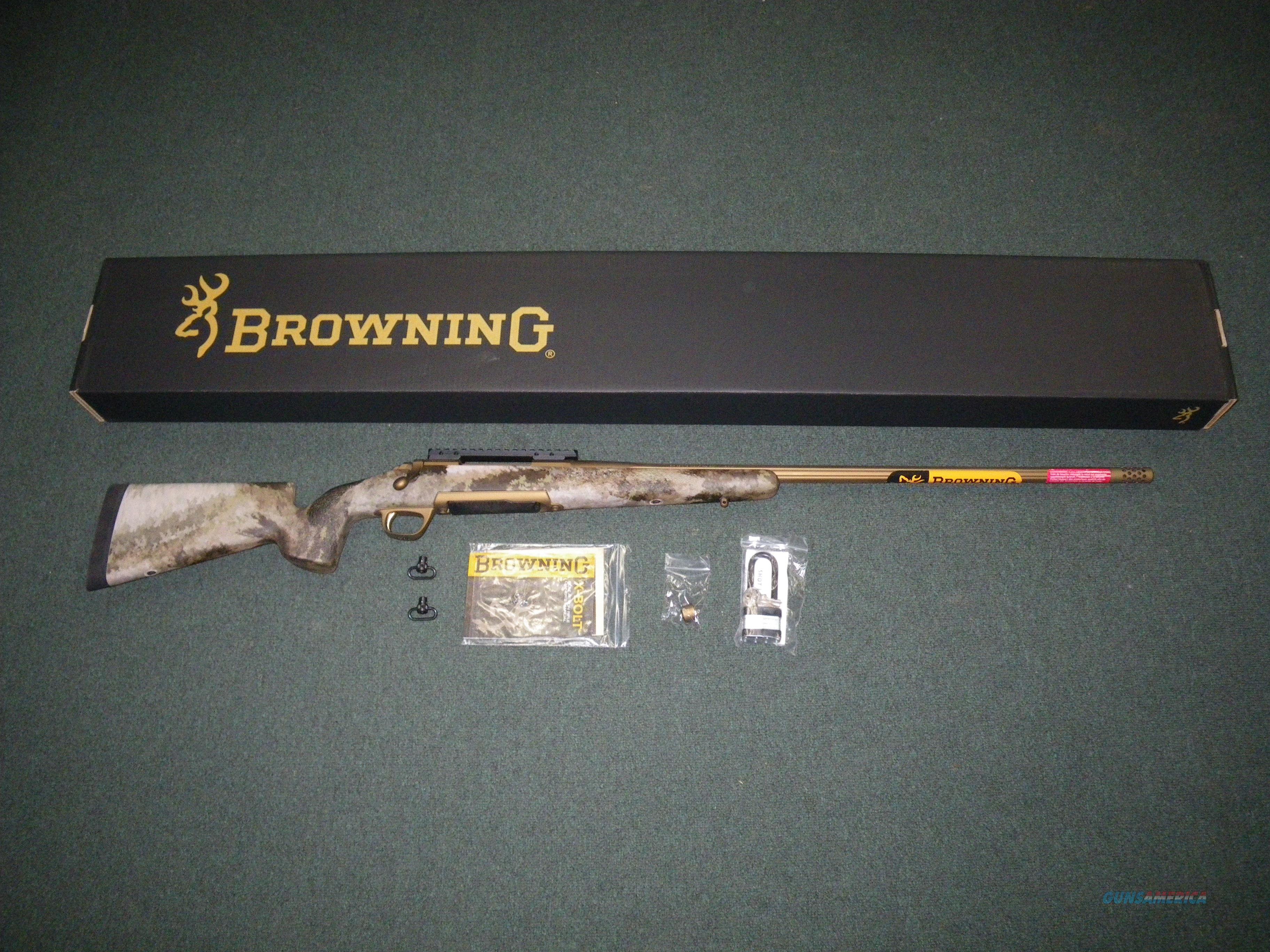 Browning X-Bolt Hells Canyon McMillan 26 Nosler NEW 035395287  Guns > Rifles > Browning Rifles > Bolt Action > Hunting > Blue