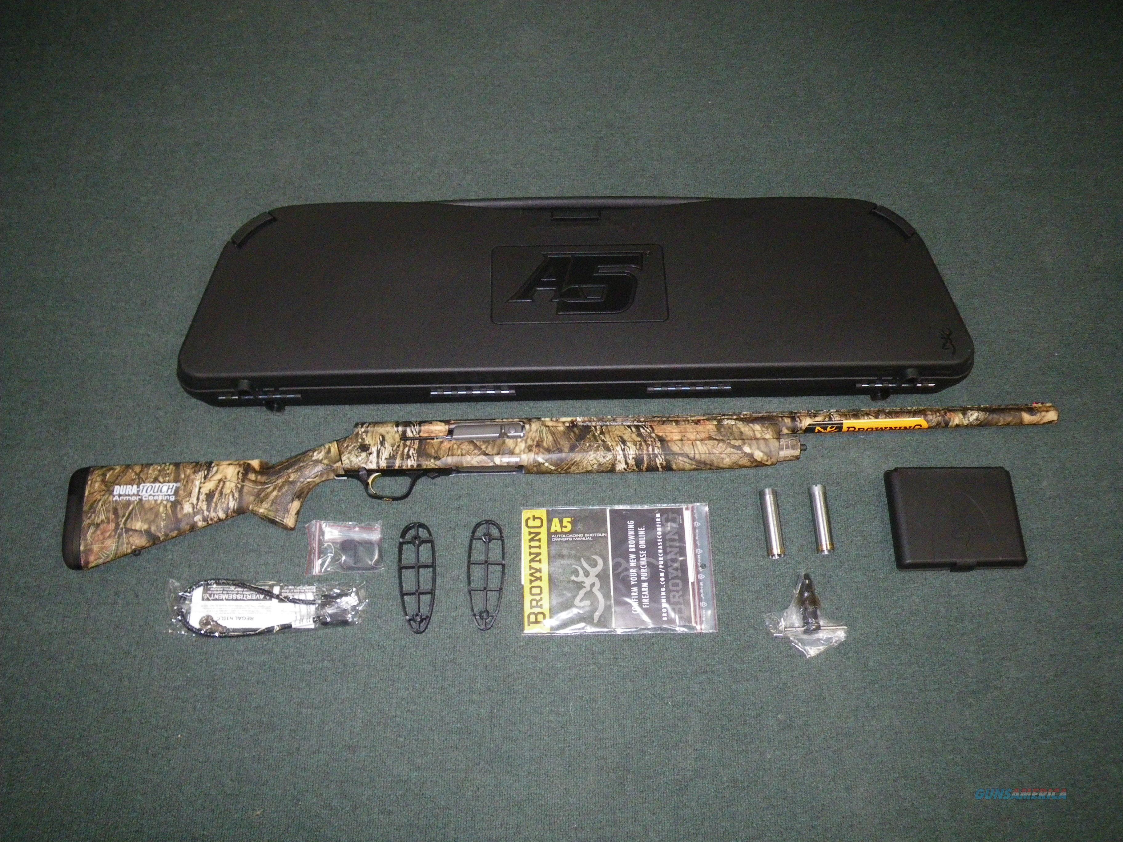 """Browning A5 MOBU Country 12ga 26"""" 3"""" Chamber NEW #0118333005  Guns > Shotguns > Browning Shotguns > Autoloaders > Hunting"""