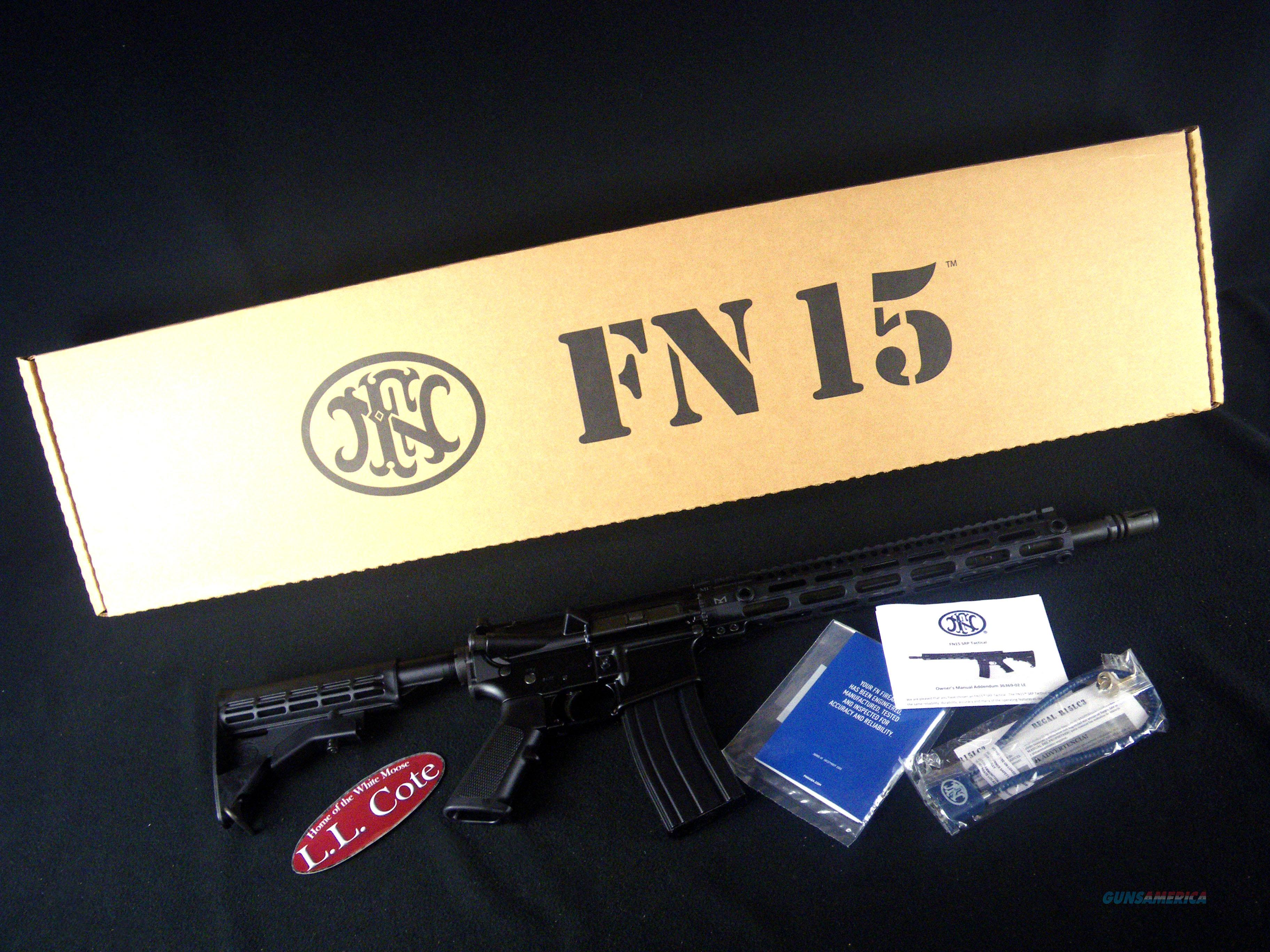 "FNH FN-15 SRP Tactical 5.56mm NATO 16"" NEW 36369-02  Guns > Rifles > FNH - Fabrique Nationale (FN) Rifles > Semi-auto > FN 15"