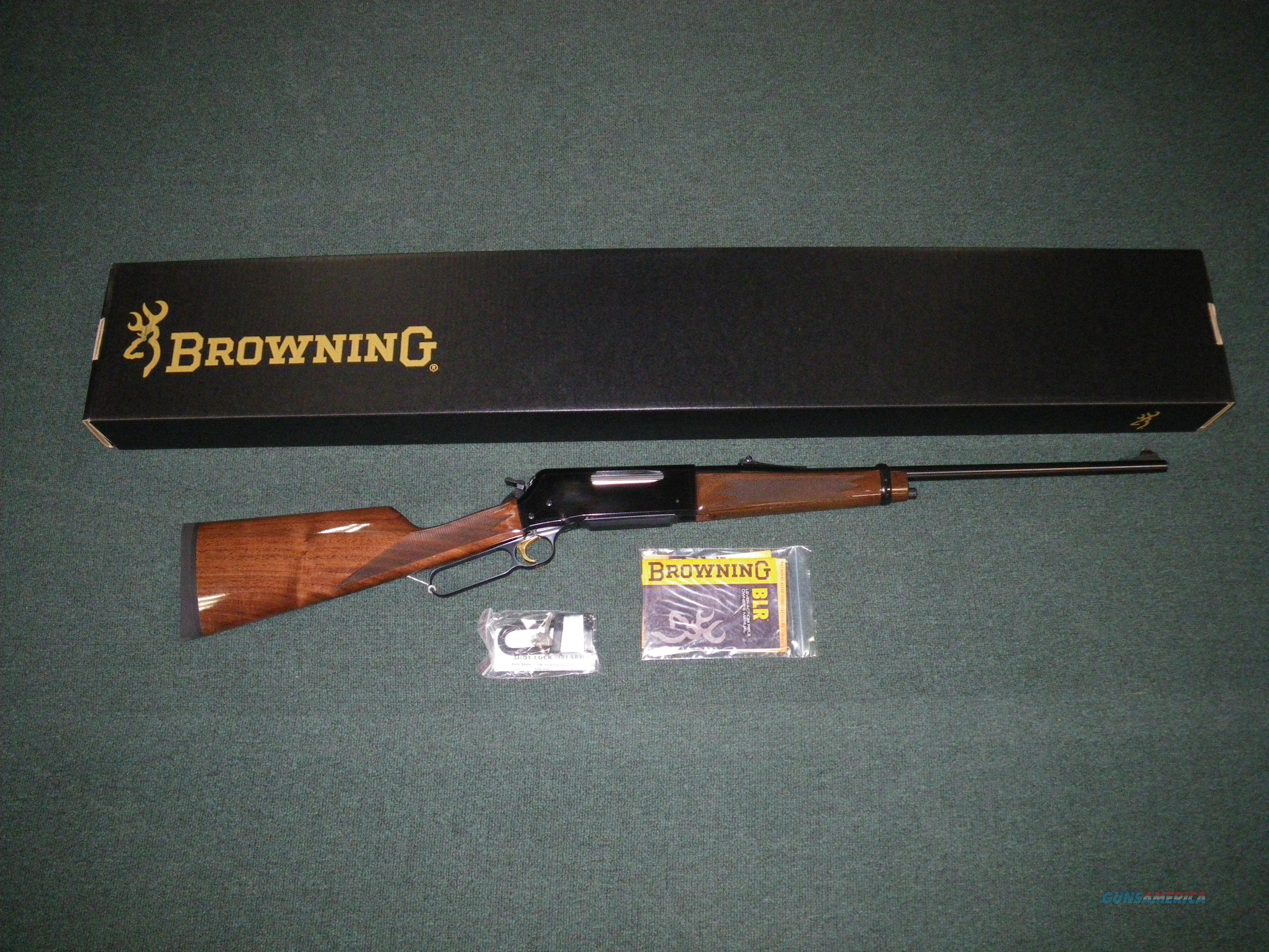 "Browning BLR Lightweight `81 358 Win 20"" NIB #034006120  Guns > Rifles > Browning Rifles > Lever Action"
