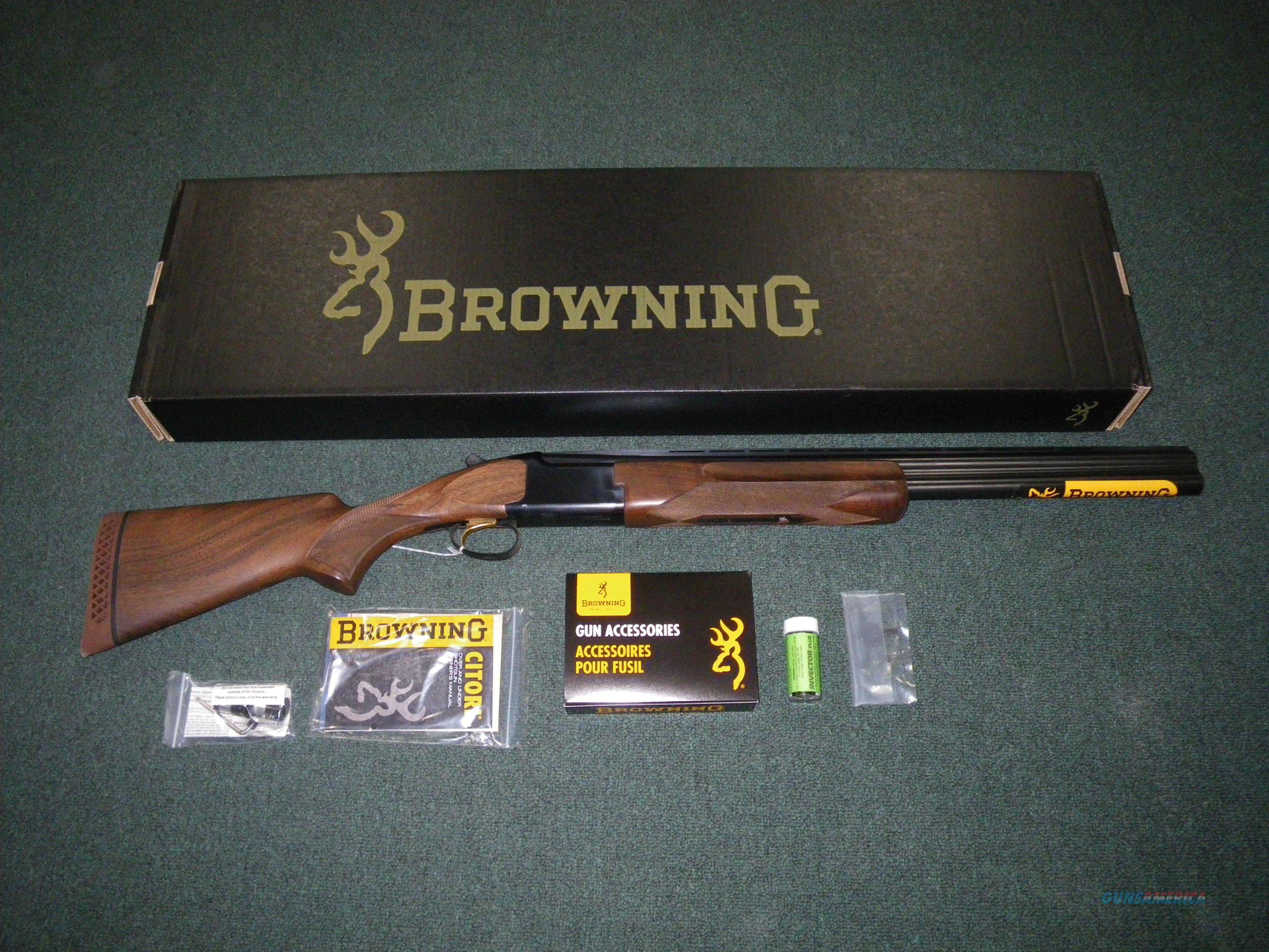 "Browning Citori Micro Midas Satin Hunter 12ga 26"" #013497305  Guns > Shotguns > Browning Shotguns > Over Unders > Citori > Hunting"