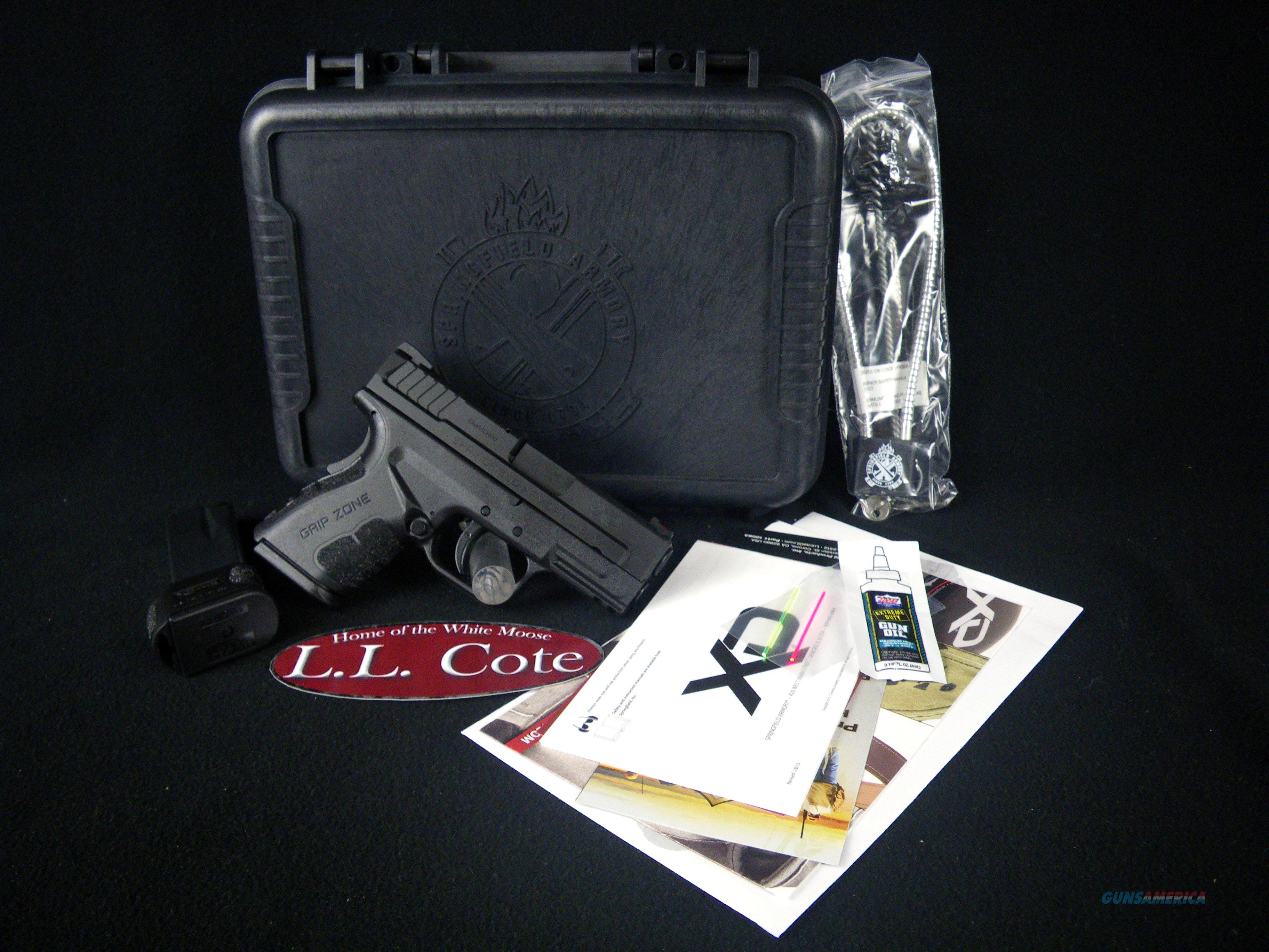 "Springfield XD Mod.2 Sub-Compact 45ACP 3.3"" NEW XDG9845BHC  Guns > Pistols > Springfield Armory Pistols > XD-Mod.2"