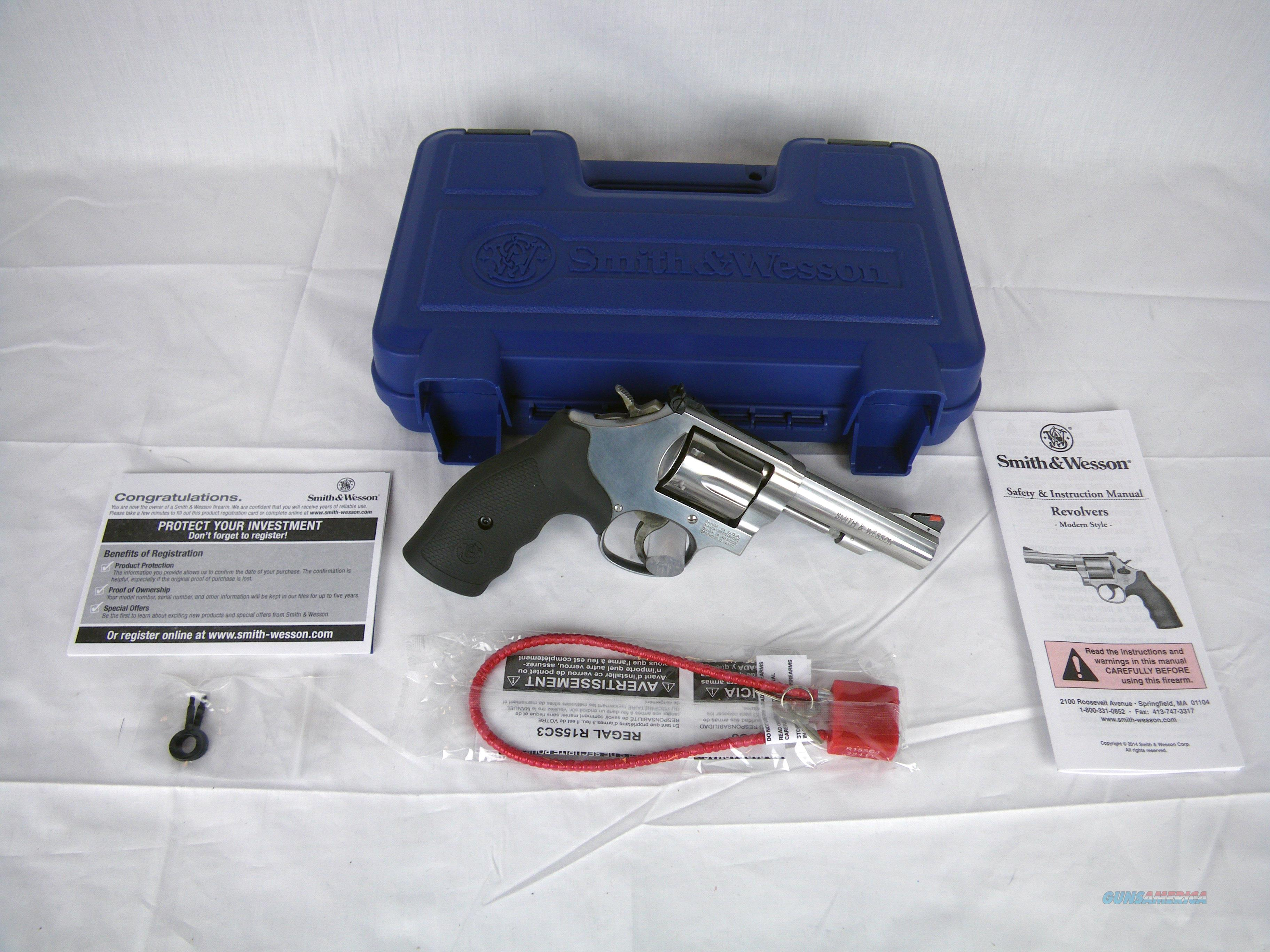 "Smith & Wesson Model 67 S&W 38 Special +P 4"" NEW #162802  Guns > Pistols > Smith & Wesson Revolvers > Full Frame Revolver"