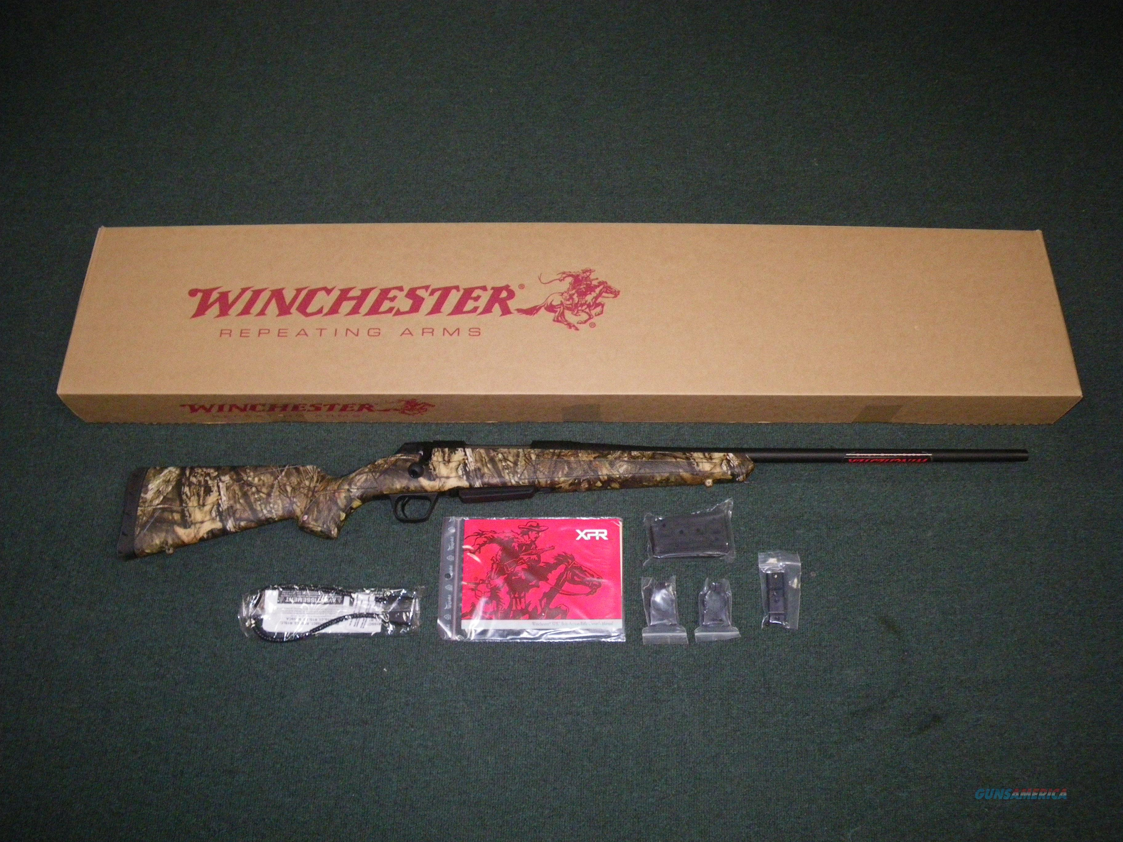"Winchester XPR MOBU Country 308 Win 22"" NEW #535704220  Guns > Rifles > Winchester Rifles - Modern Bolt/Auto/Single > Other Bolt Action"