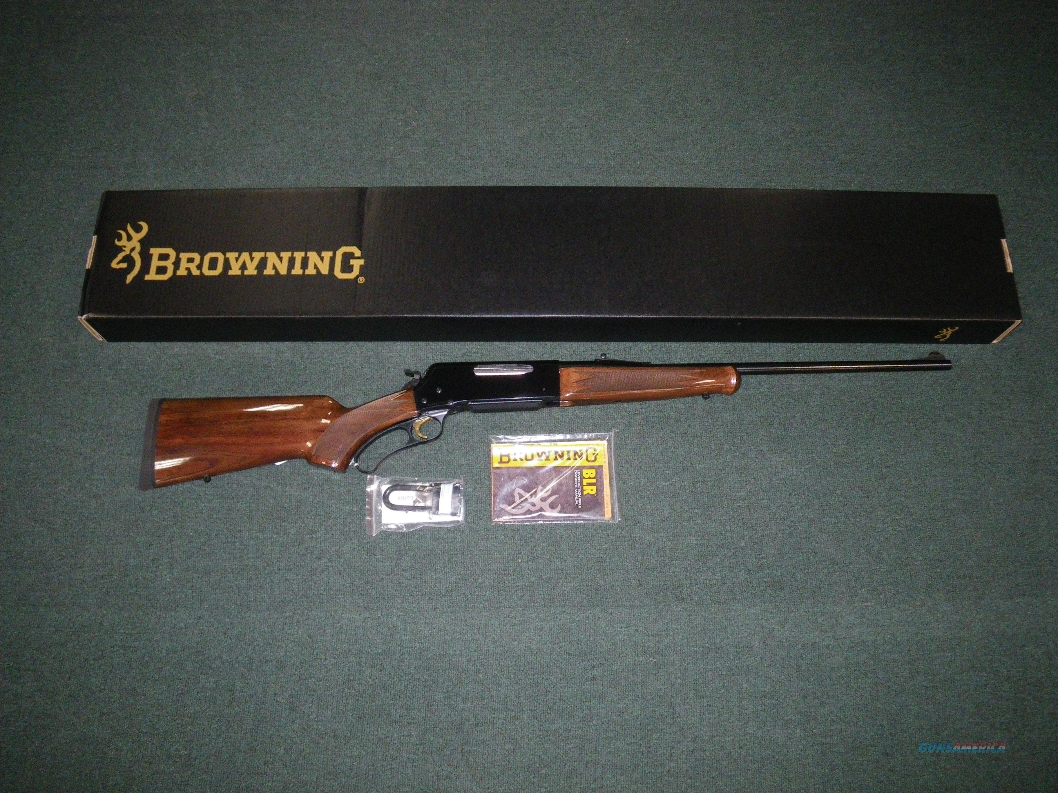 "Browning BLR Lightweight Pistol Grip 7mm-08 20"" Item #034009116  Guns > Rifles > Browning Rifles > Lever Action"