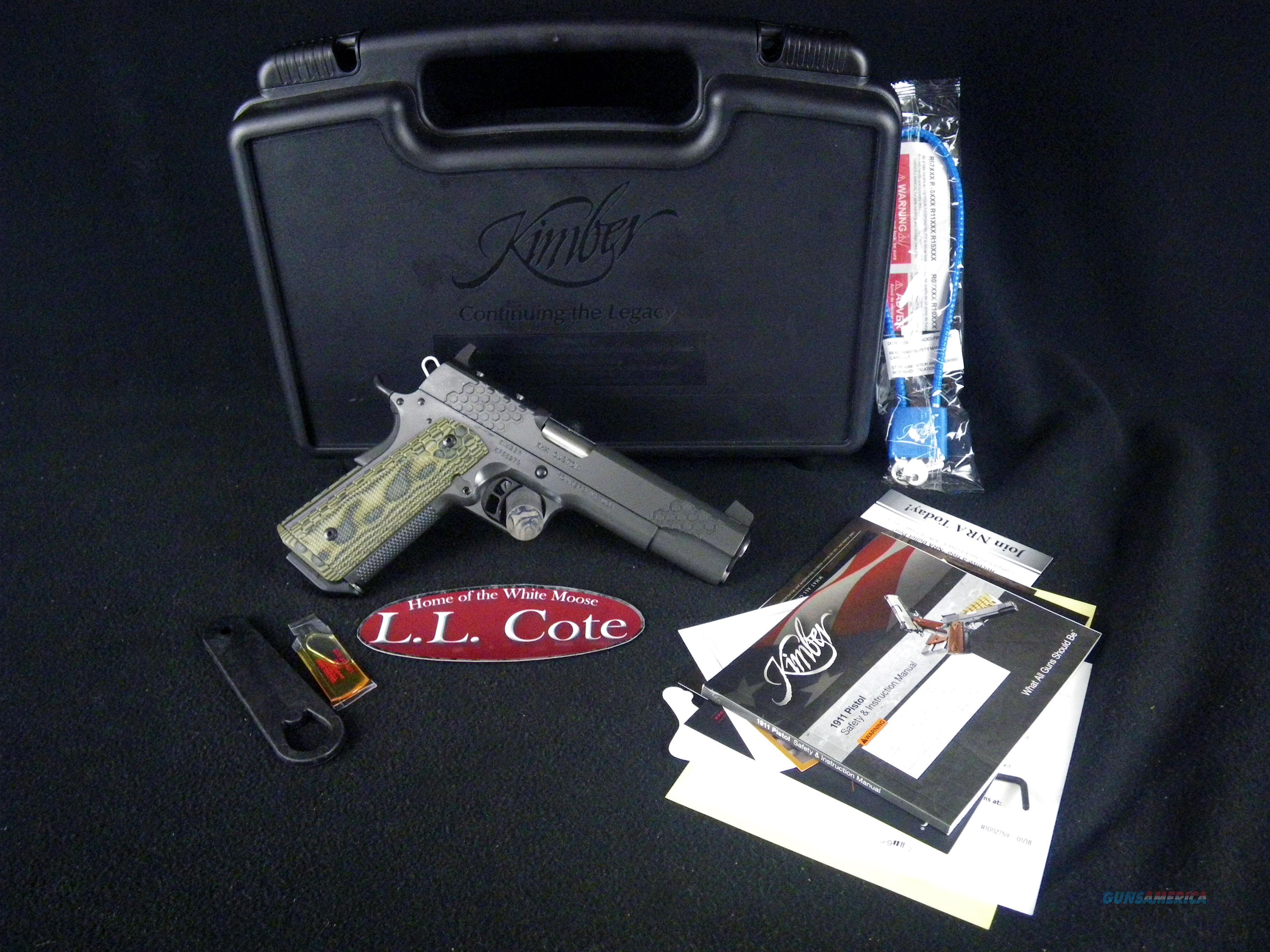 "Kimber KHX Custom (OR) 9mm 5"" NEW Hogue Magrip 3000374  Guns > Pistols > Kimber of America Pistols > 1911"