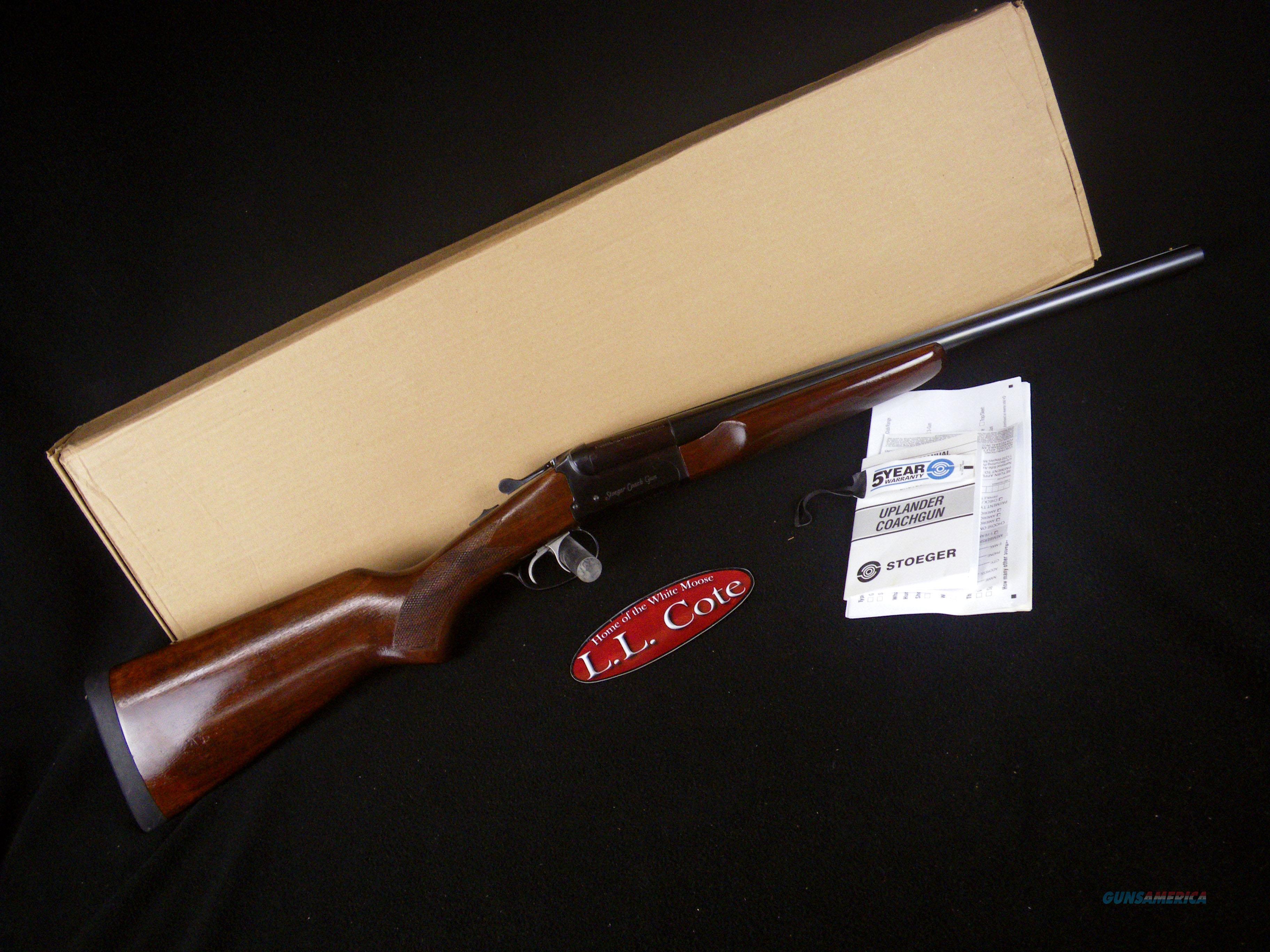"Stoeger Coach Gun Supreme Blued 20ga 20"" NEW 31487  Guns > Shotguns > Stoeger Shotguns"