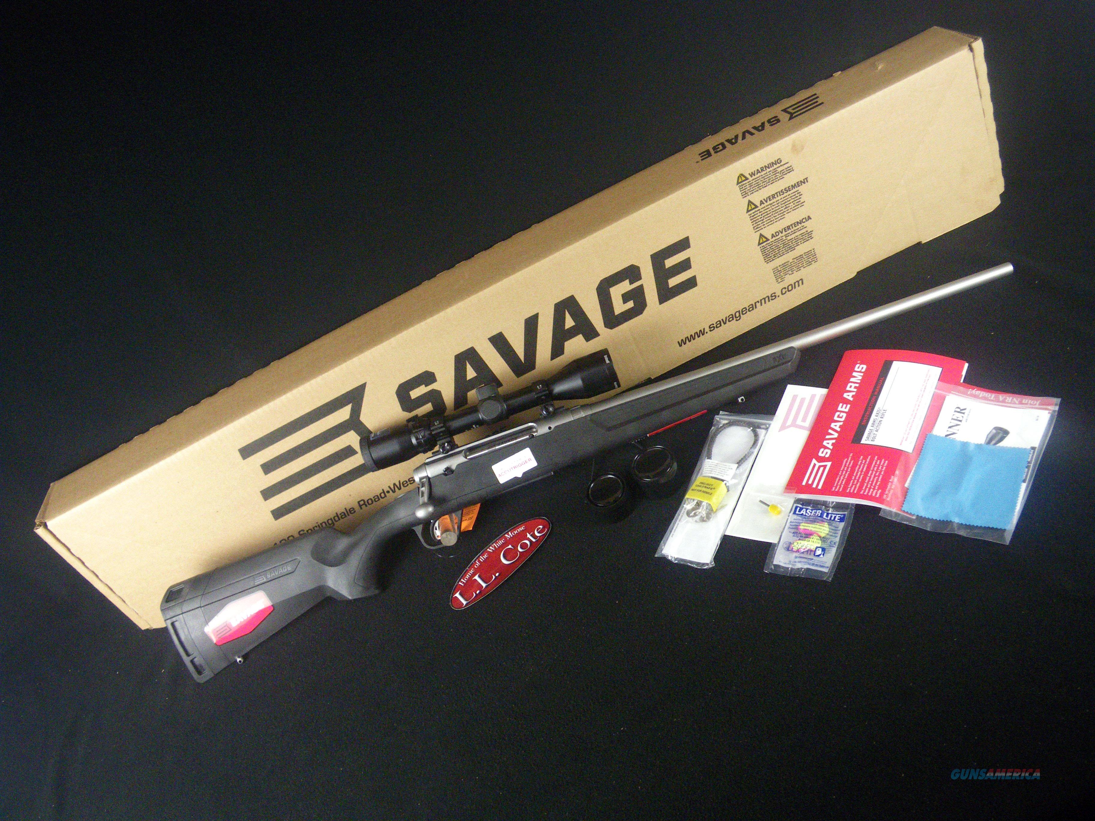 "Savage Axis II XP 30-06 22"" Stainless NEW 57109  Guns > Rifles > Savage Rifles > Axis"
