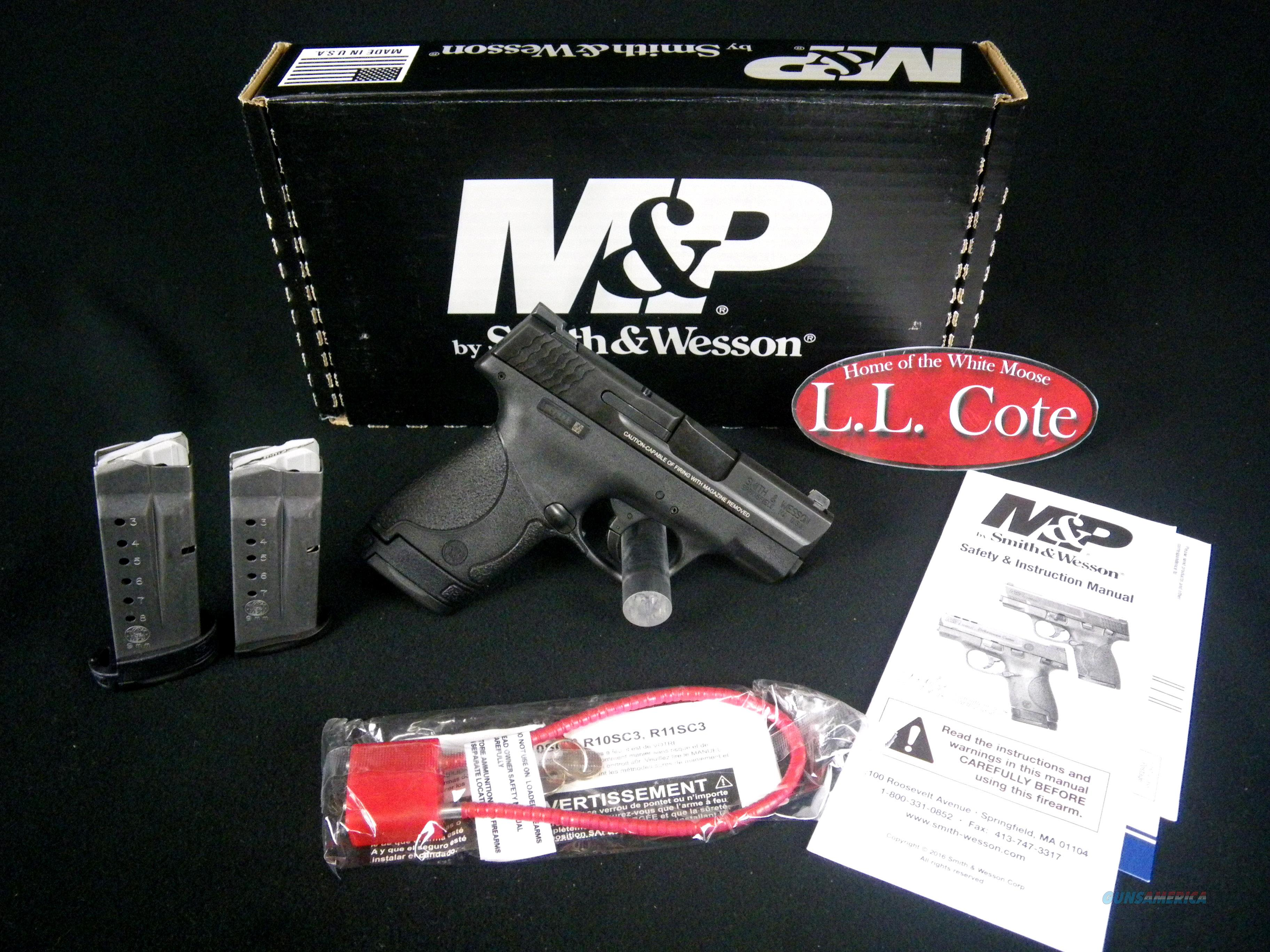 "Smith & Wesson M&P 9 Shield 9mm 3.1"" NEW 10086  Guns > Pistols > Smith & Wesson Pistols - Autos > Shield"