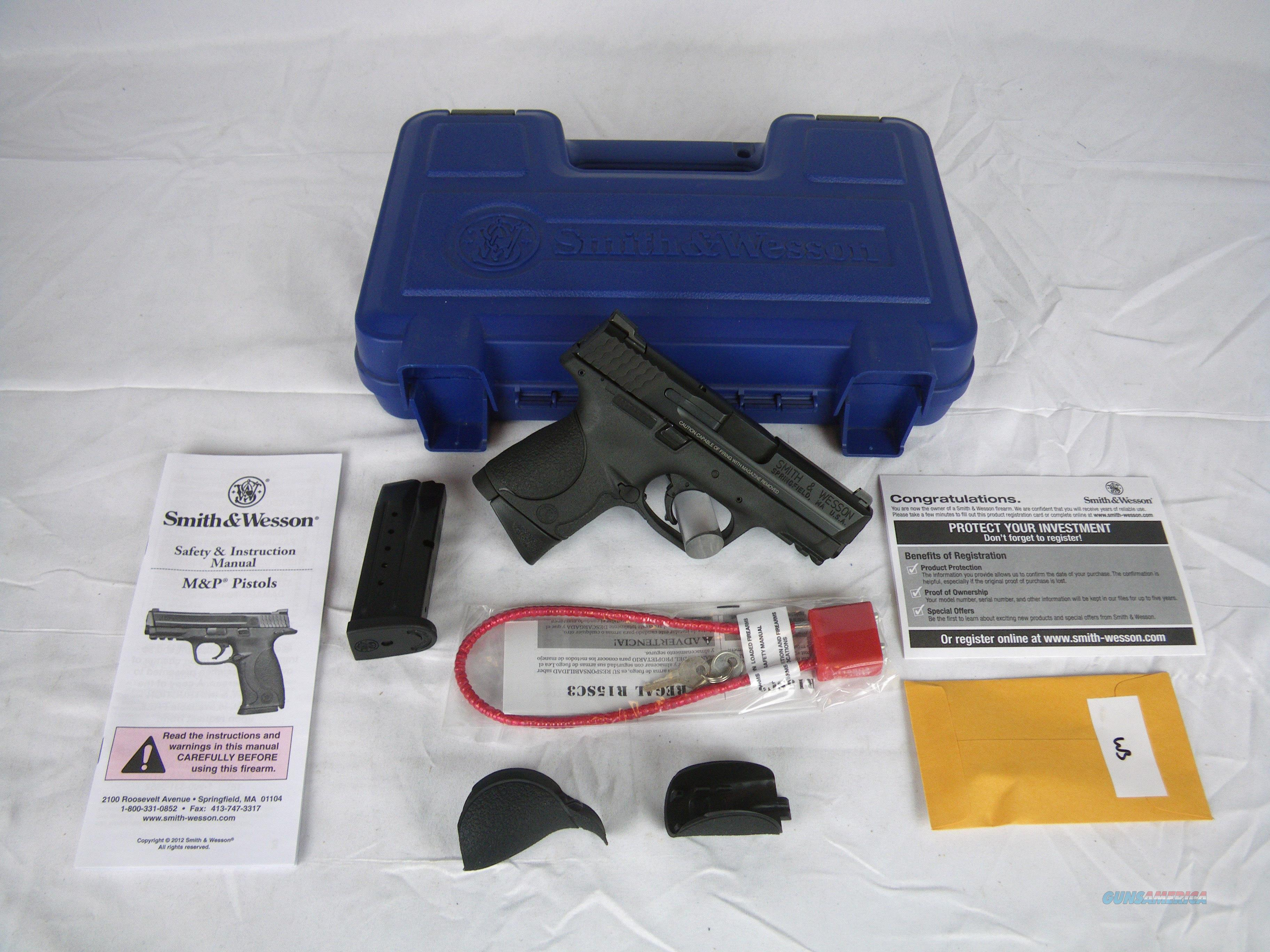 "Smith & Wesson M&P9C 9mm 3.5"" Black S&W NEW #209304  Guns > Pistols > Smith & Wesson Pistols - Autos > Polymer Frame"