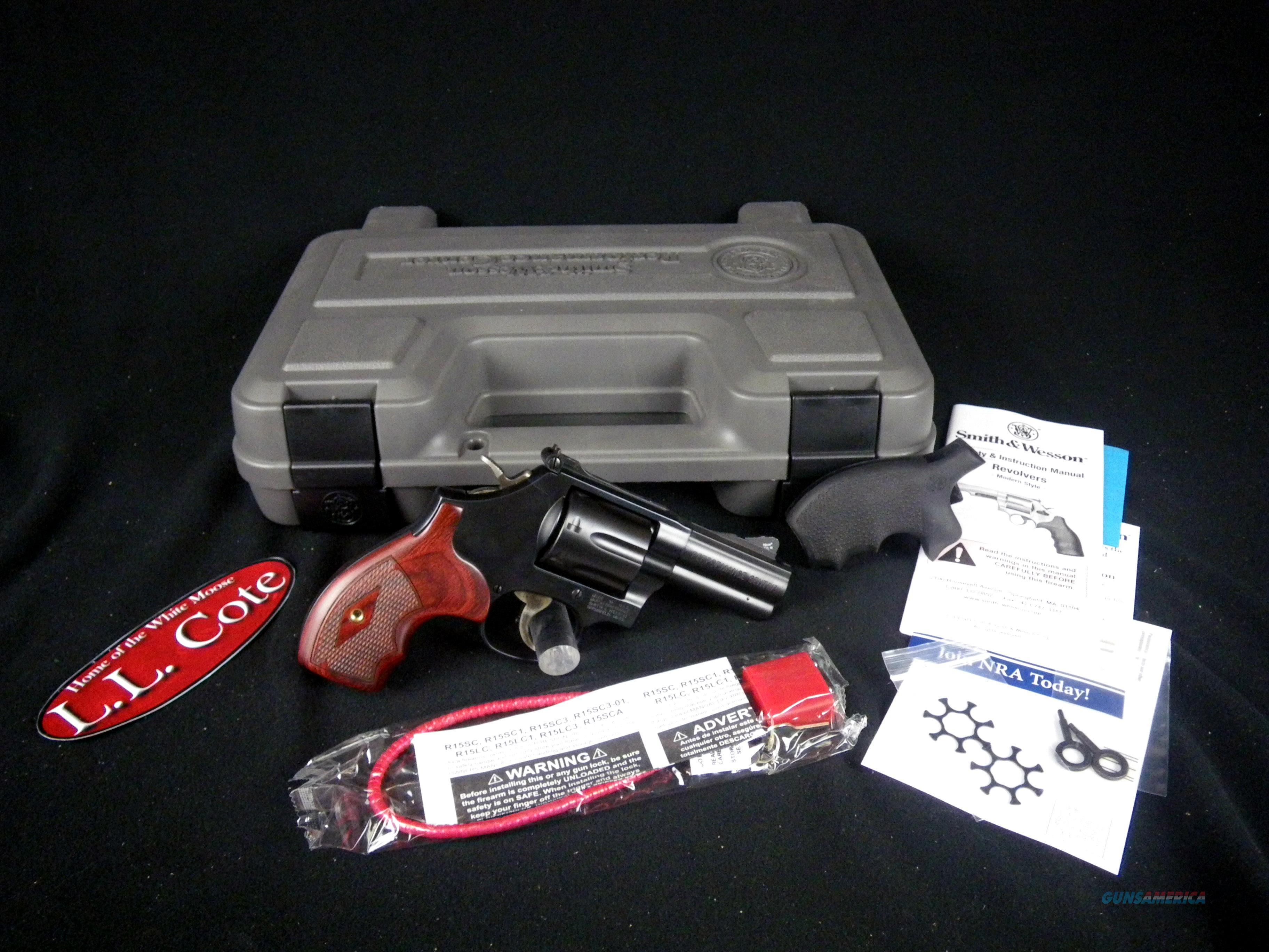 "Smith & Wesson Model 586 Perf Cen L-Comp 357Mag 3"" 170170  Guns > Pistols > Smith & Wesson Revolvers > Med. Frame ( K/L )"