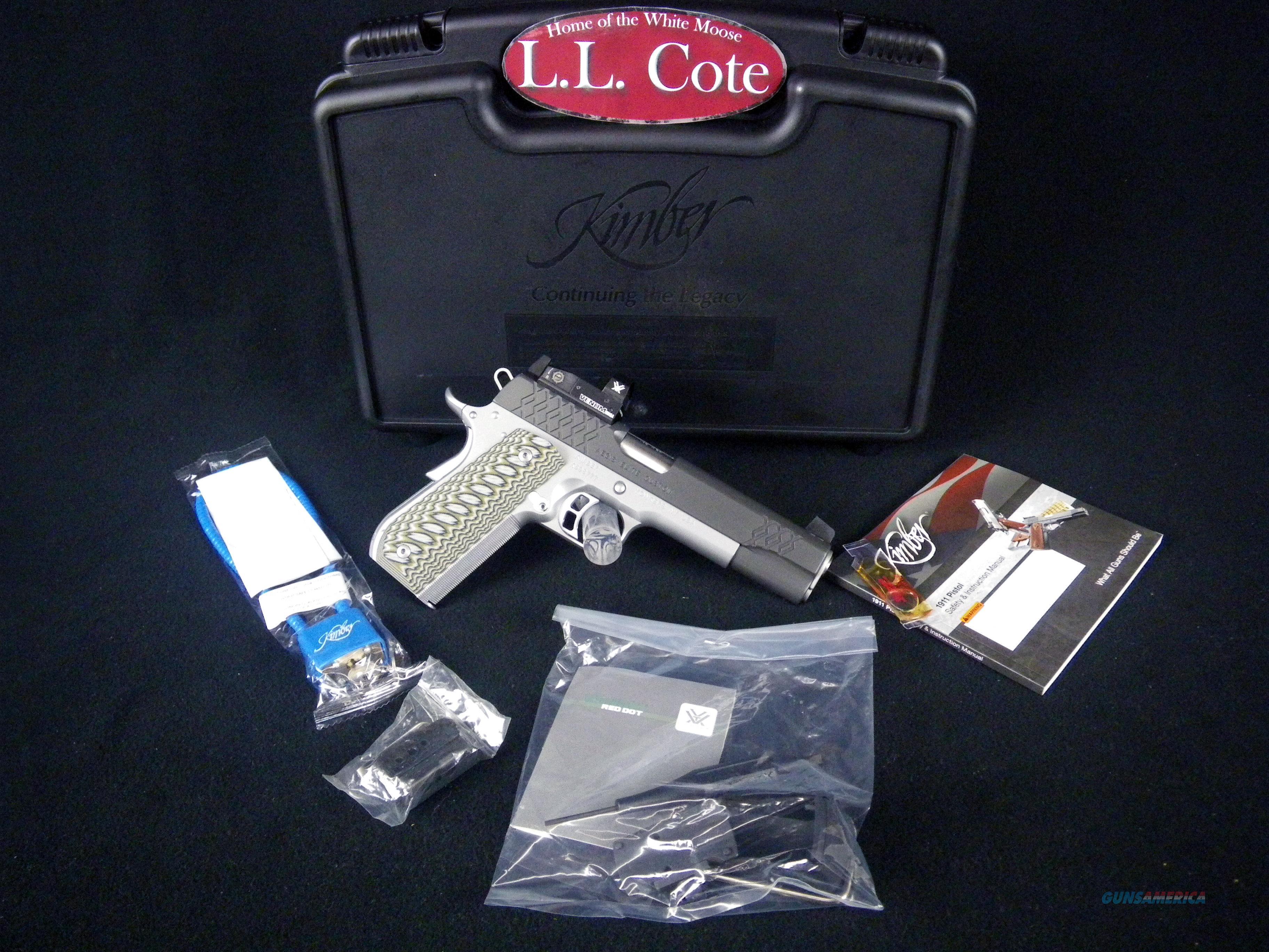 "Kimber Aegis Elite Custom (OI) 45acp 5""NEW 3000352  Guns > Pistols > Kimber of America Pistols > 1911"