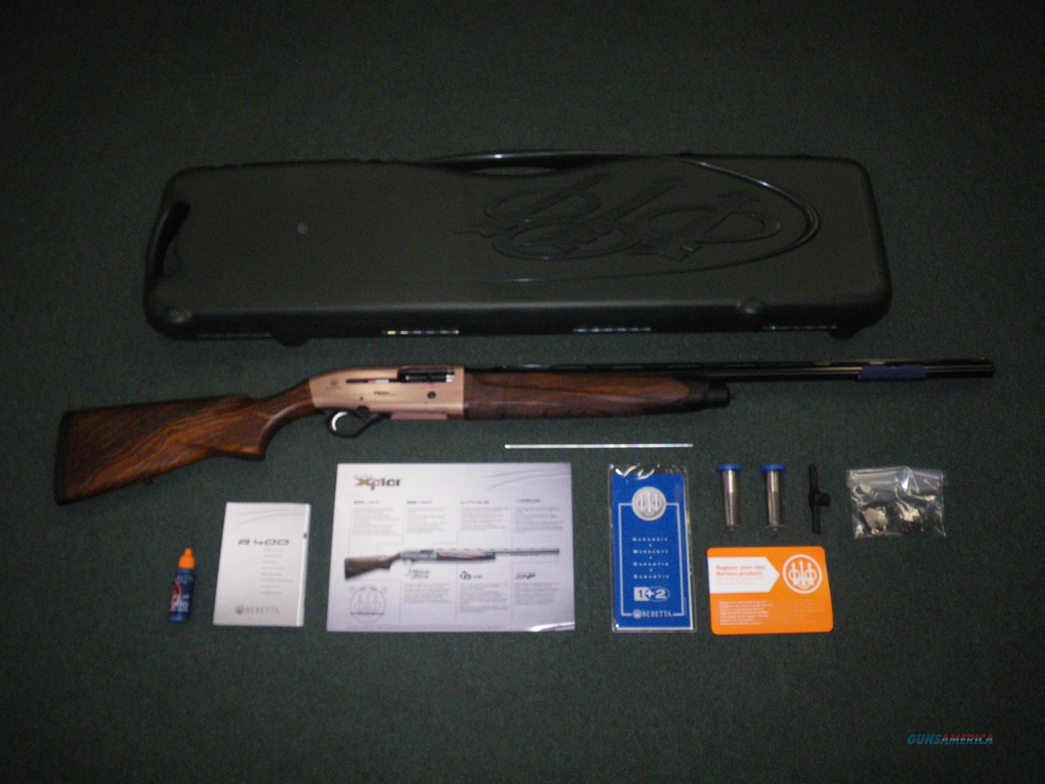 "Beretta A400 Xplor Action 12ga 26"" Standard NEW #J40AW16  Guns > Shotguns > Beretta Shotguns > Autoloaders > Hunting"