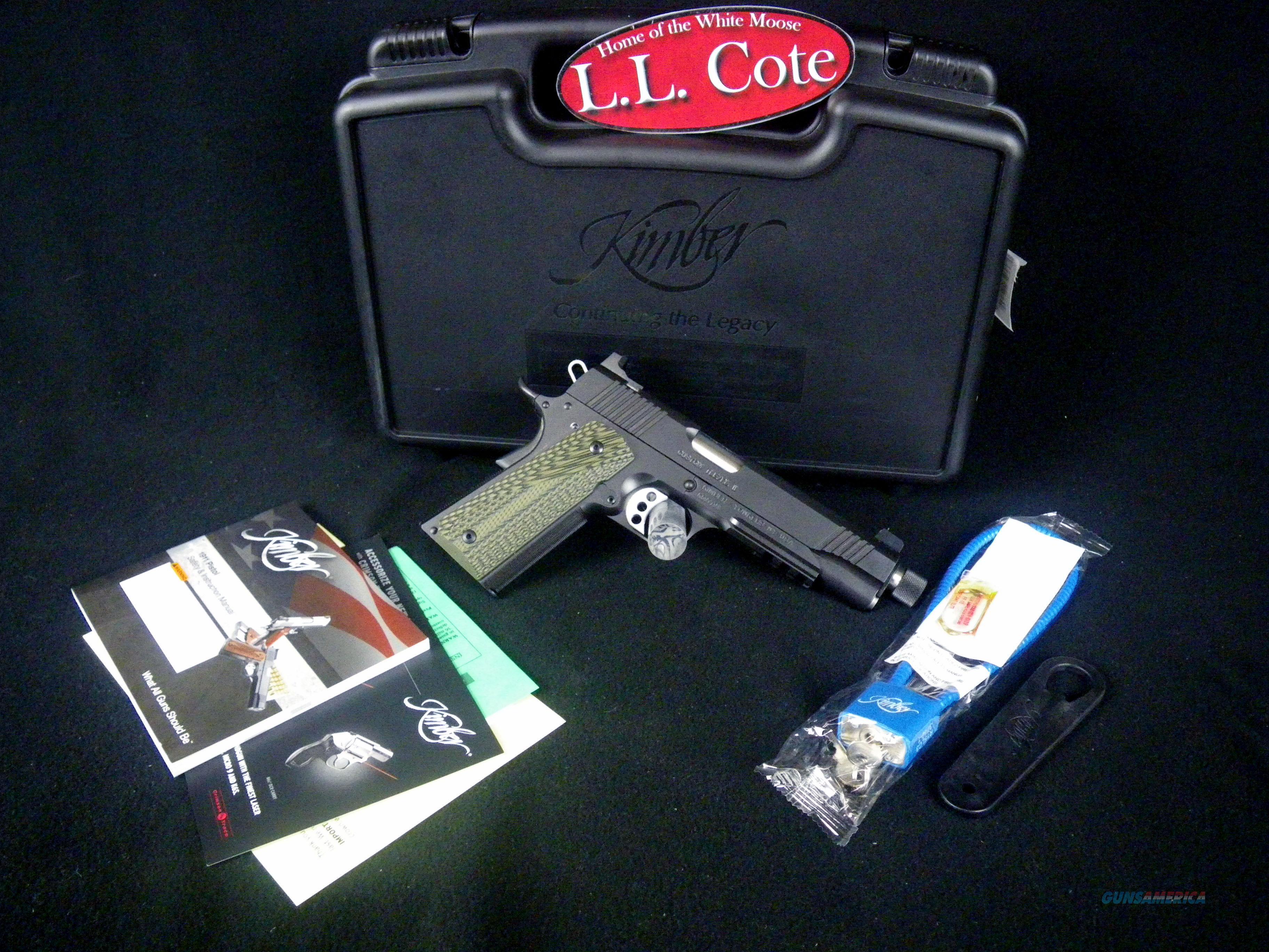 "Kimber Custom TLE/RL II (TFS) 45acp 5.5"" NEW 3200337  Guns > Pistols > Kimber of America Pistols > 1911"