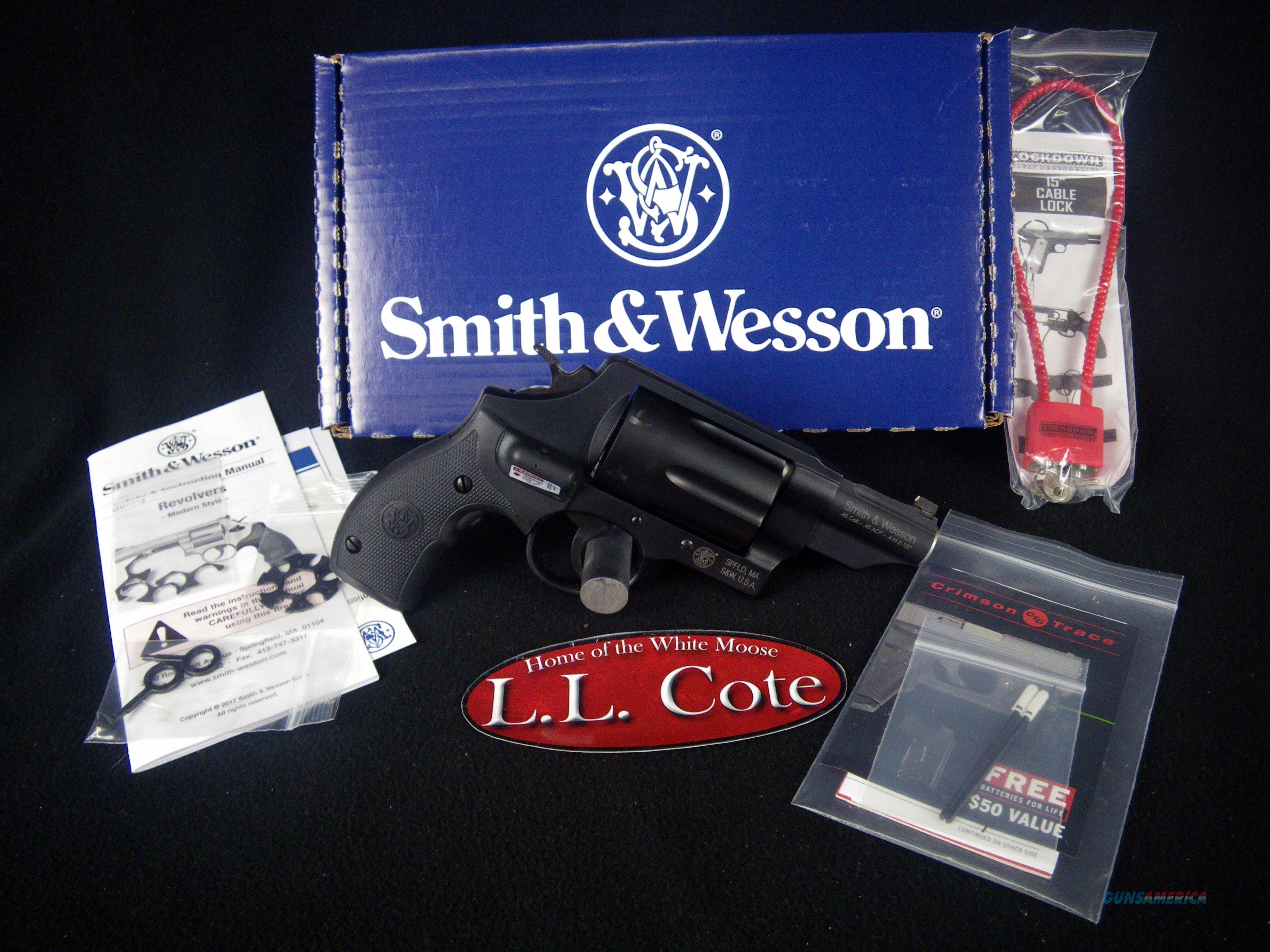 "Smith & Wesson Governor 45/410ga 2.75"" Laser NEW 162411  Guns > Pistols > Smith & Wesson Revolvers > Small Frame ( J )"