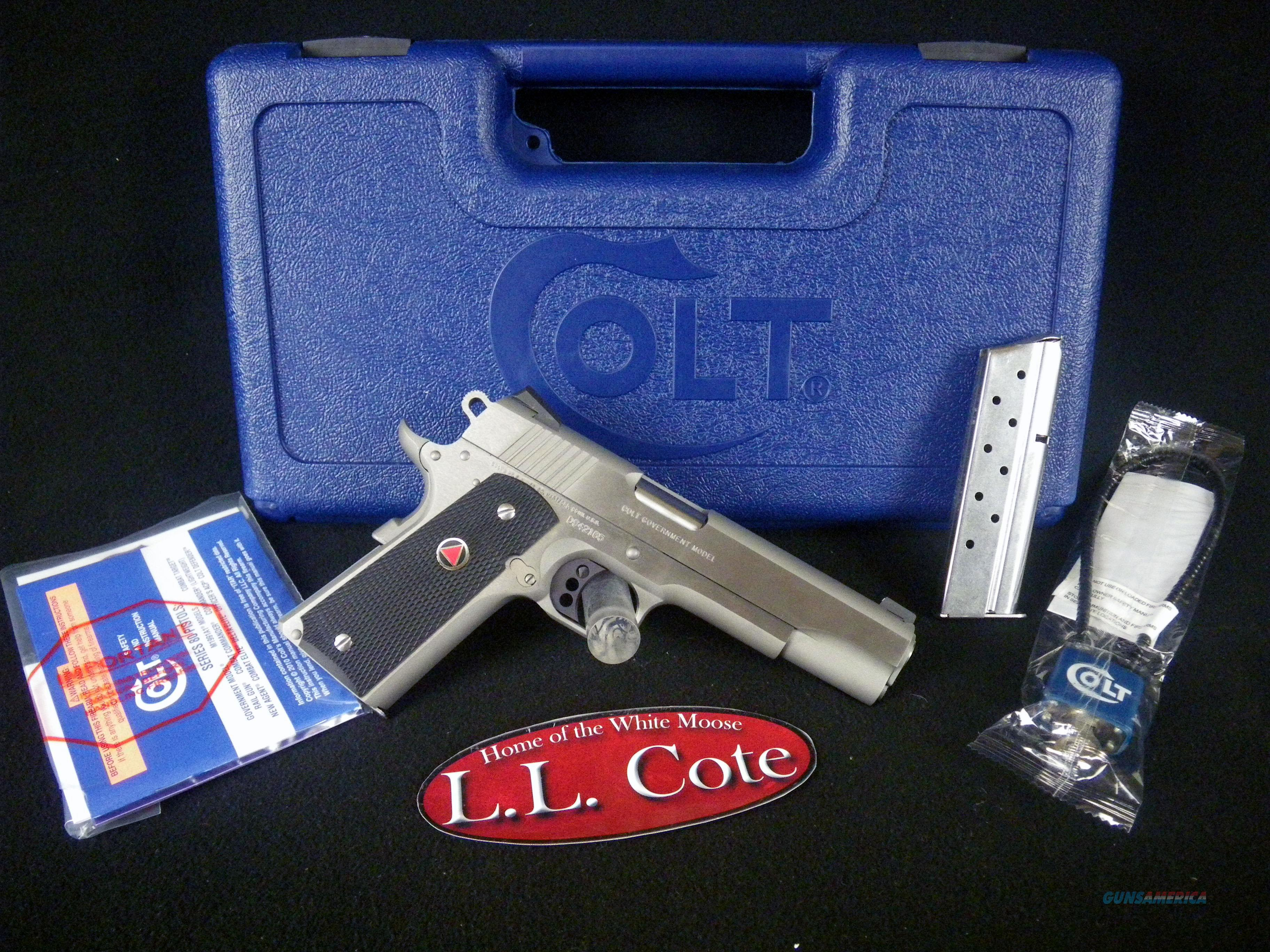 "Colt Delta Elite MKIV Stainless 10mm 5"" NEW O2020XE  Guns > Pistols > Colt Automatic Pistols (1911 & Var)"