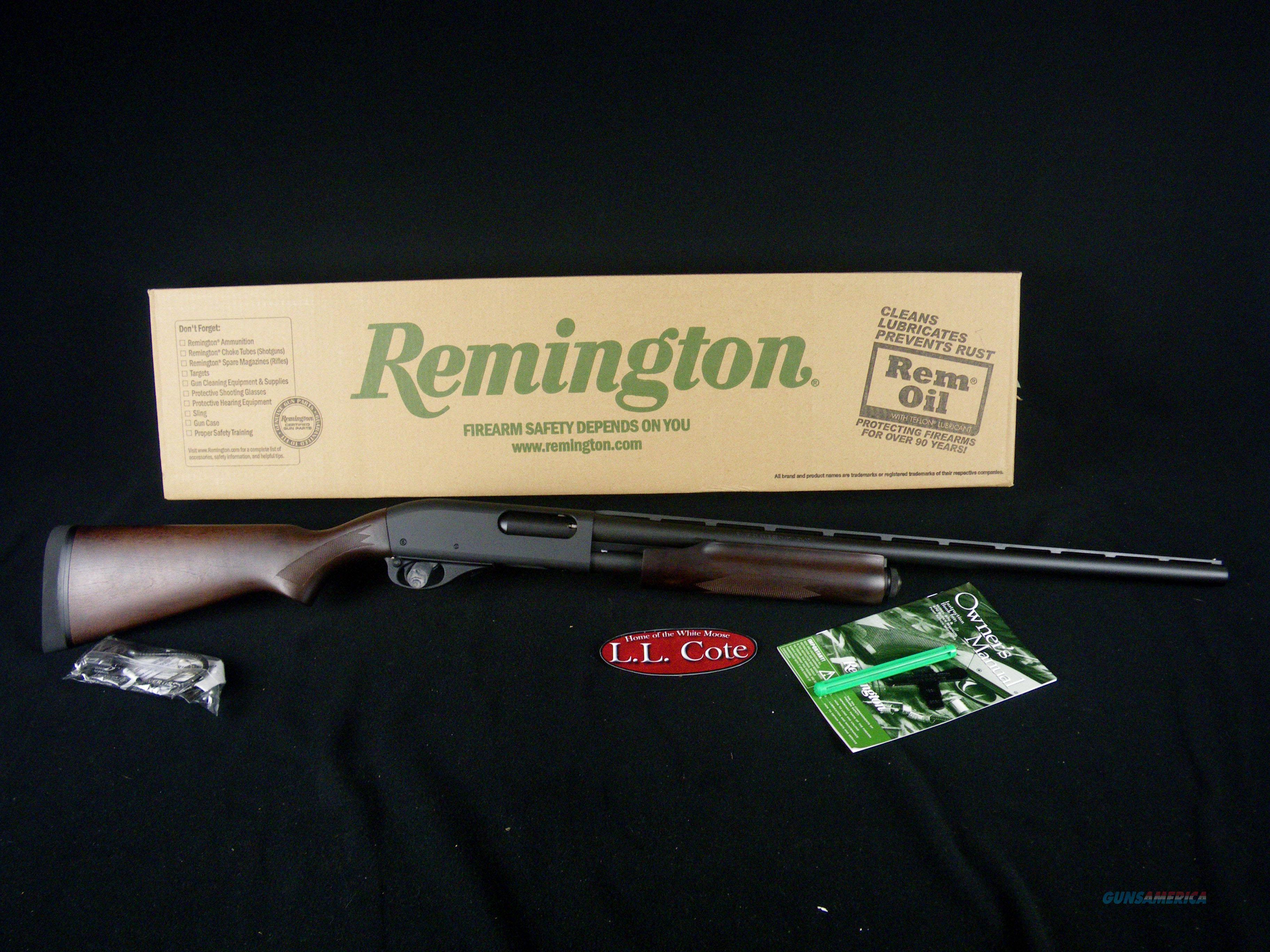 "Remington Model 870 Express Wood 20ga 21"" NEW 3"" 81166  Guns > Shotguns > Remington Shotguns  > Pump > Hunting"