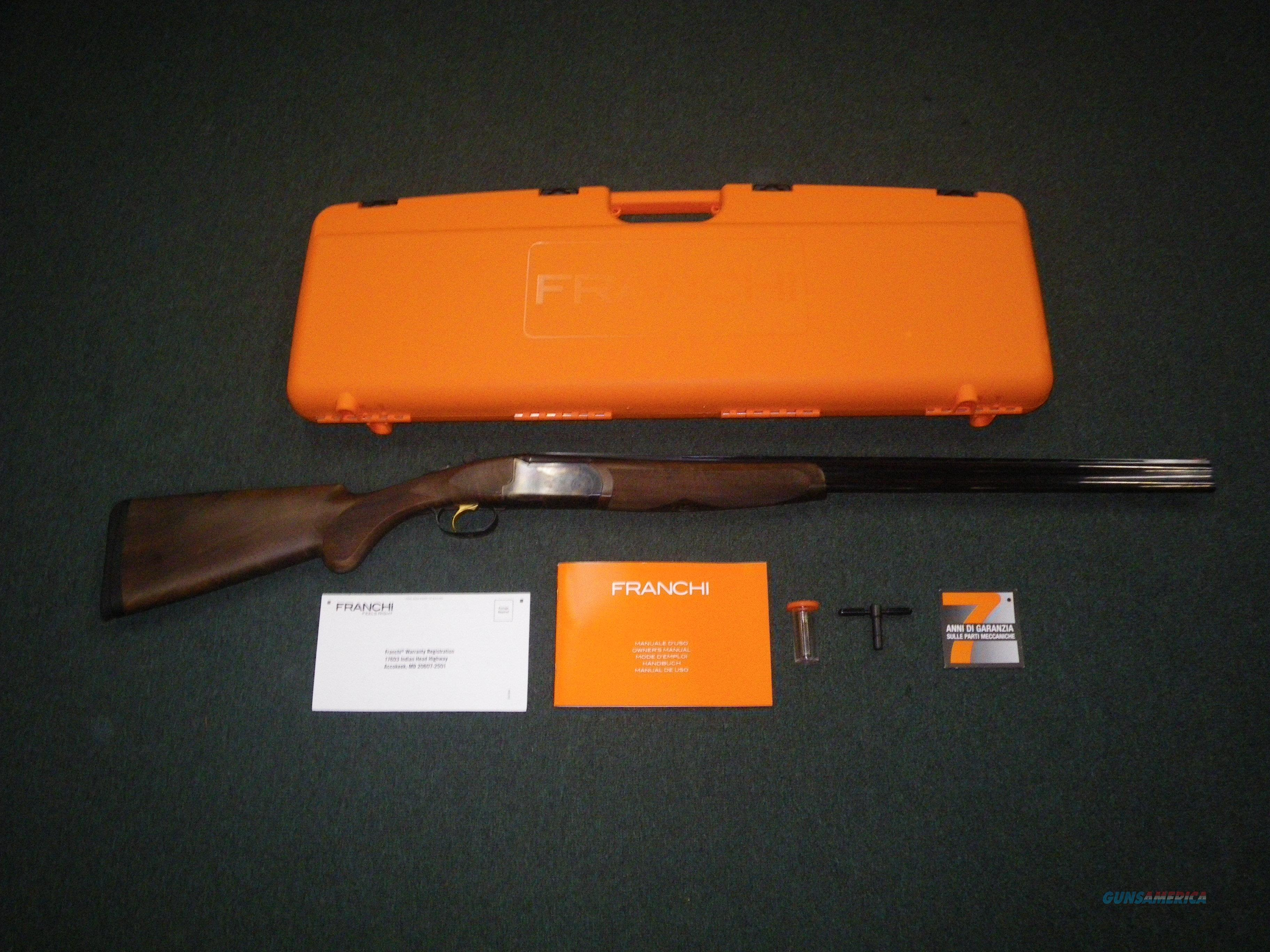 "Franchi Instinct L Over/Under Shotgun 410ga 28"" NIB #40812  Guns > Shotguns > Franchi Shotguns > Over/Under > Hunting"