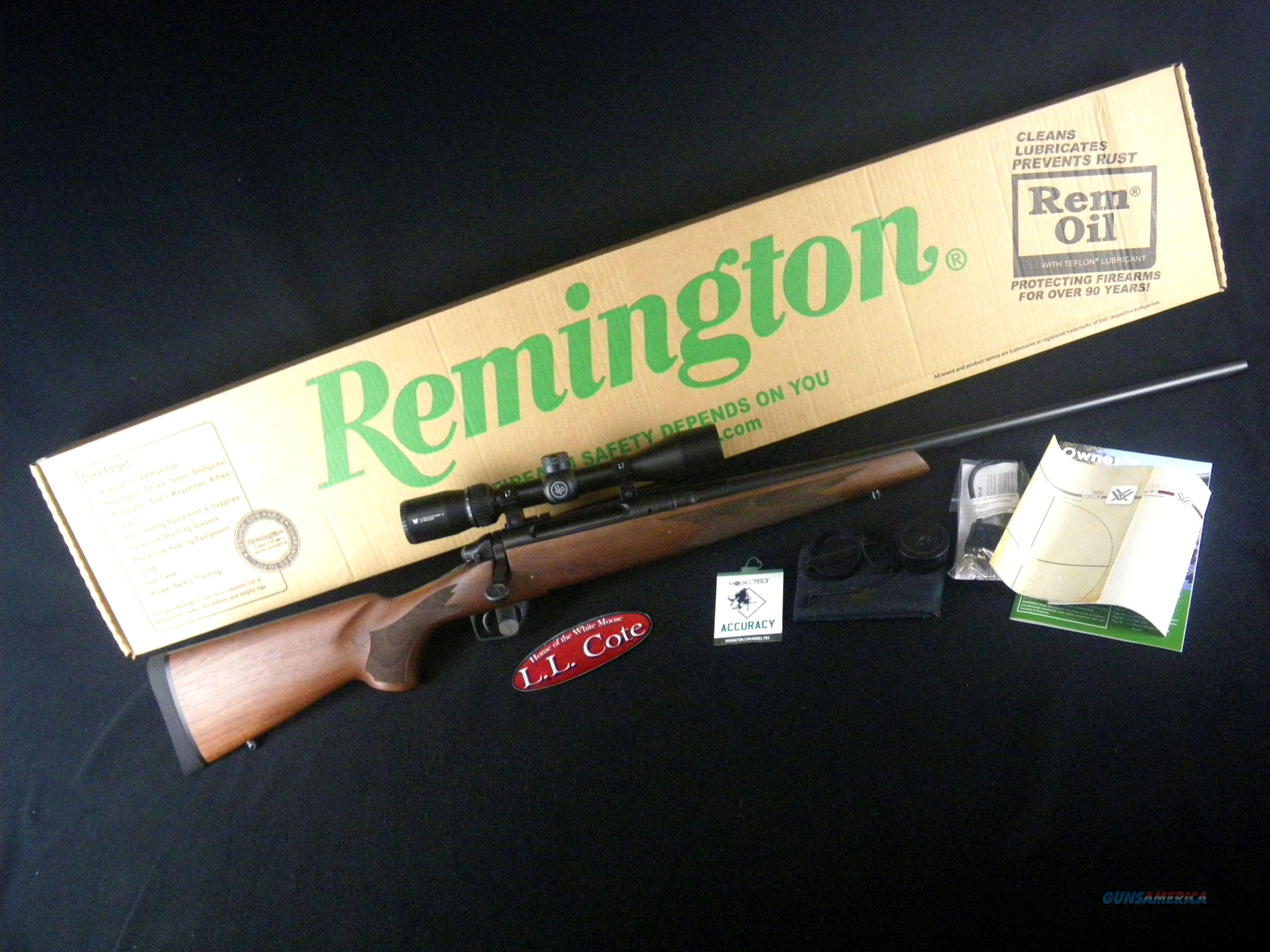 "Remington 783 Walnut W/Scope 30-06 22"" NEW 85888  Guns > Rifles > Remington Rifles - Modern > Bolt Action Non-Model 700 > Sporting"